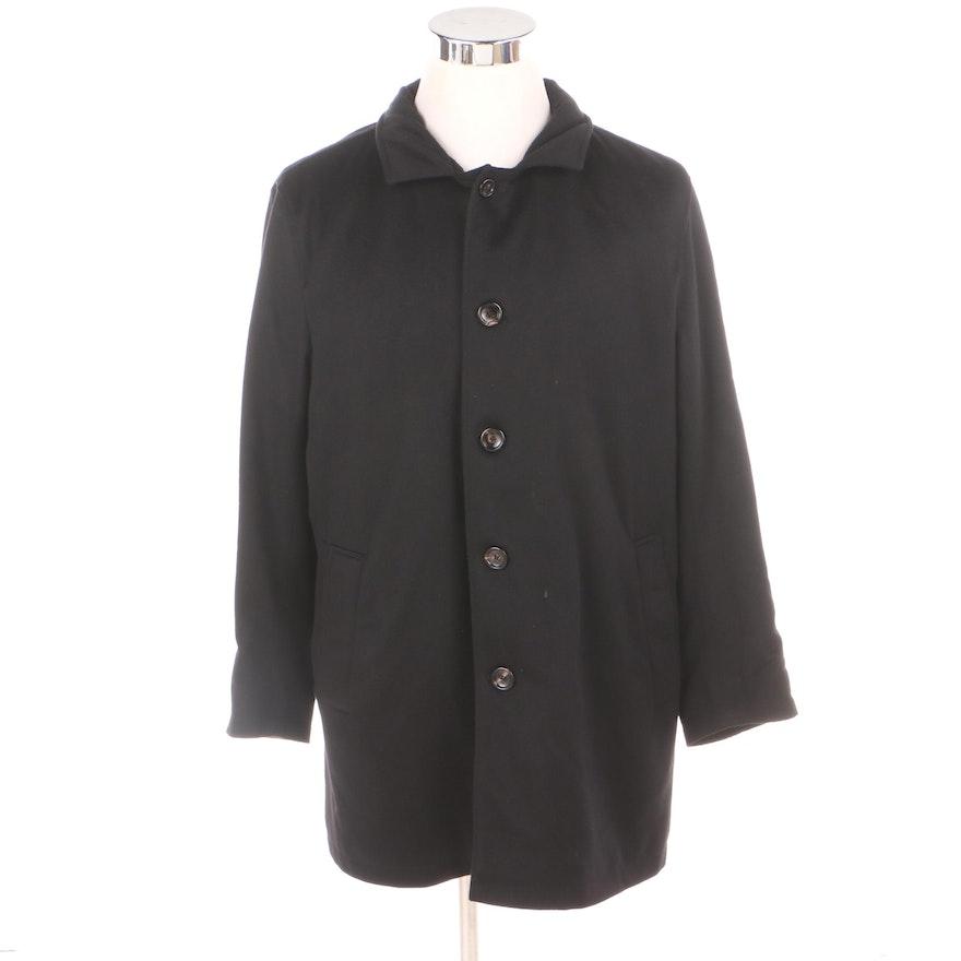 a6939a72232 Men s Neiman Marcus Black Cashmere Coat   EBTH