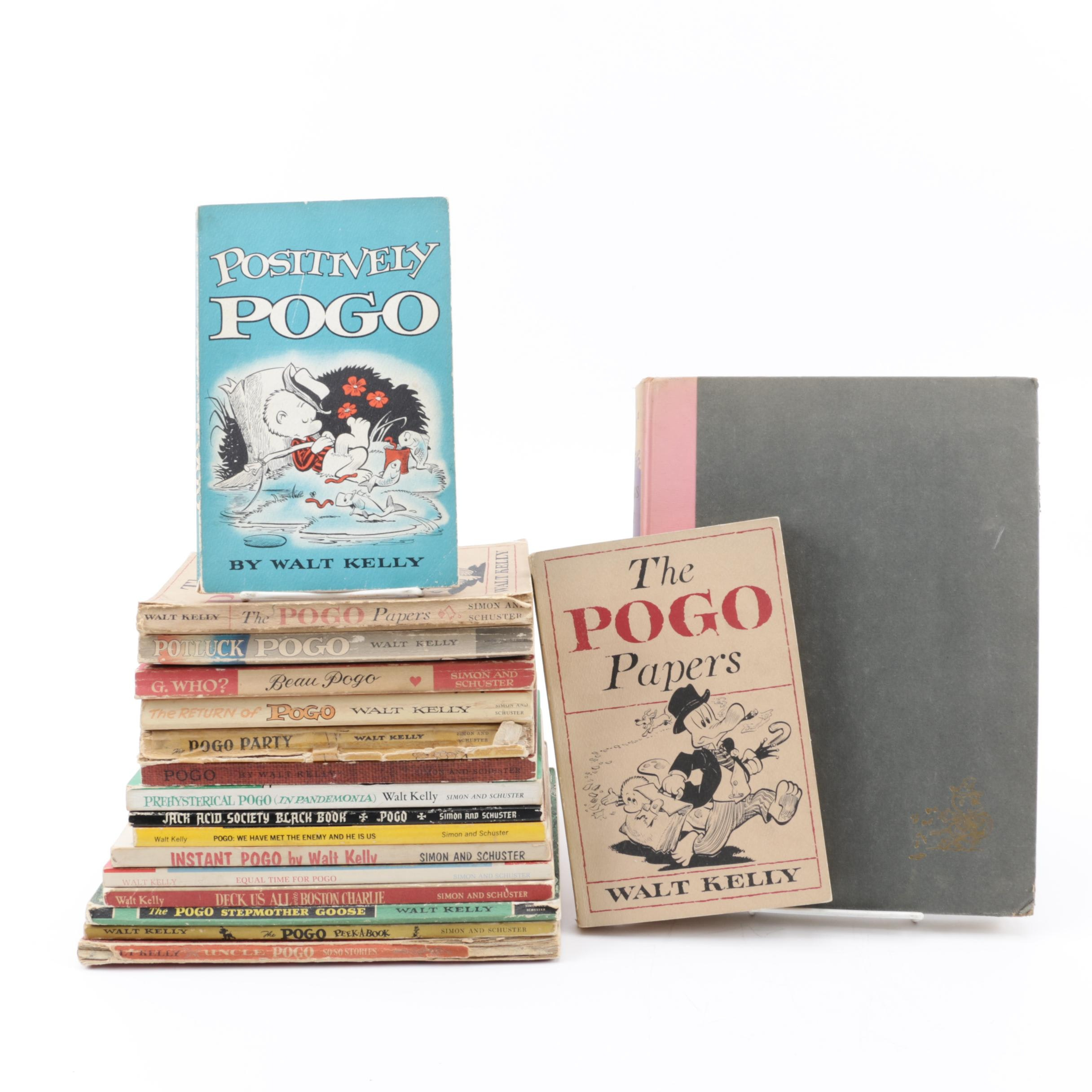 """""""Pogo"""" Series Books by Walt Kelly including """"Songs of the Pogo"""""""
