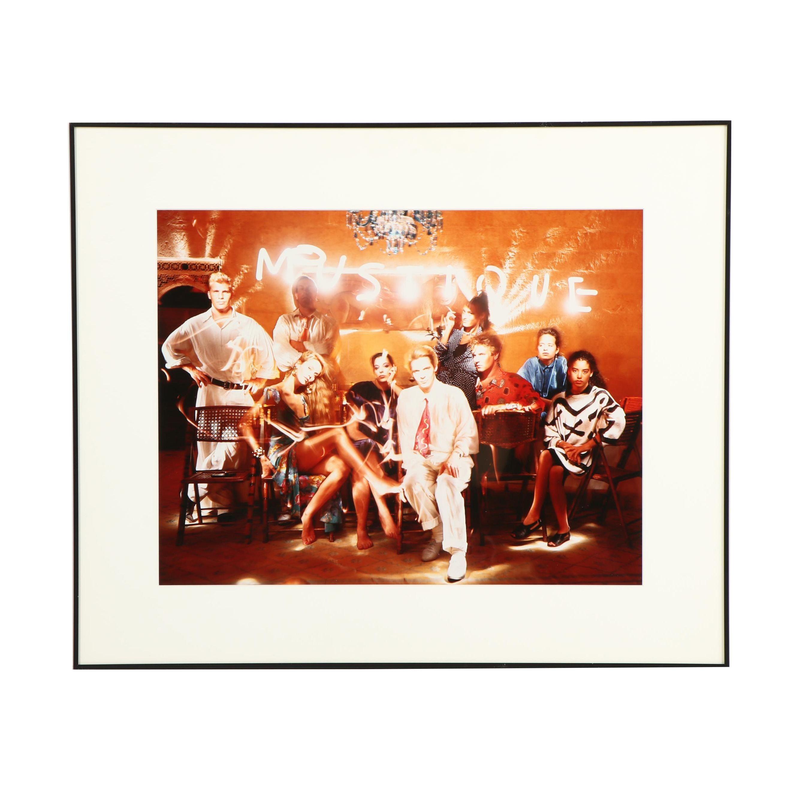 """Dean Chamberlain Photograph """"Mustique 1986"""""""