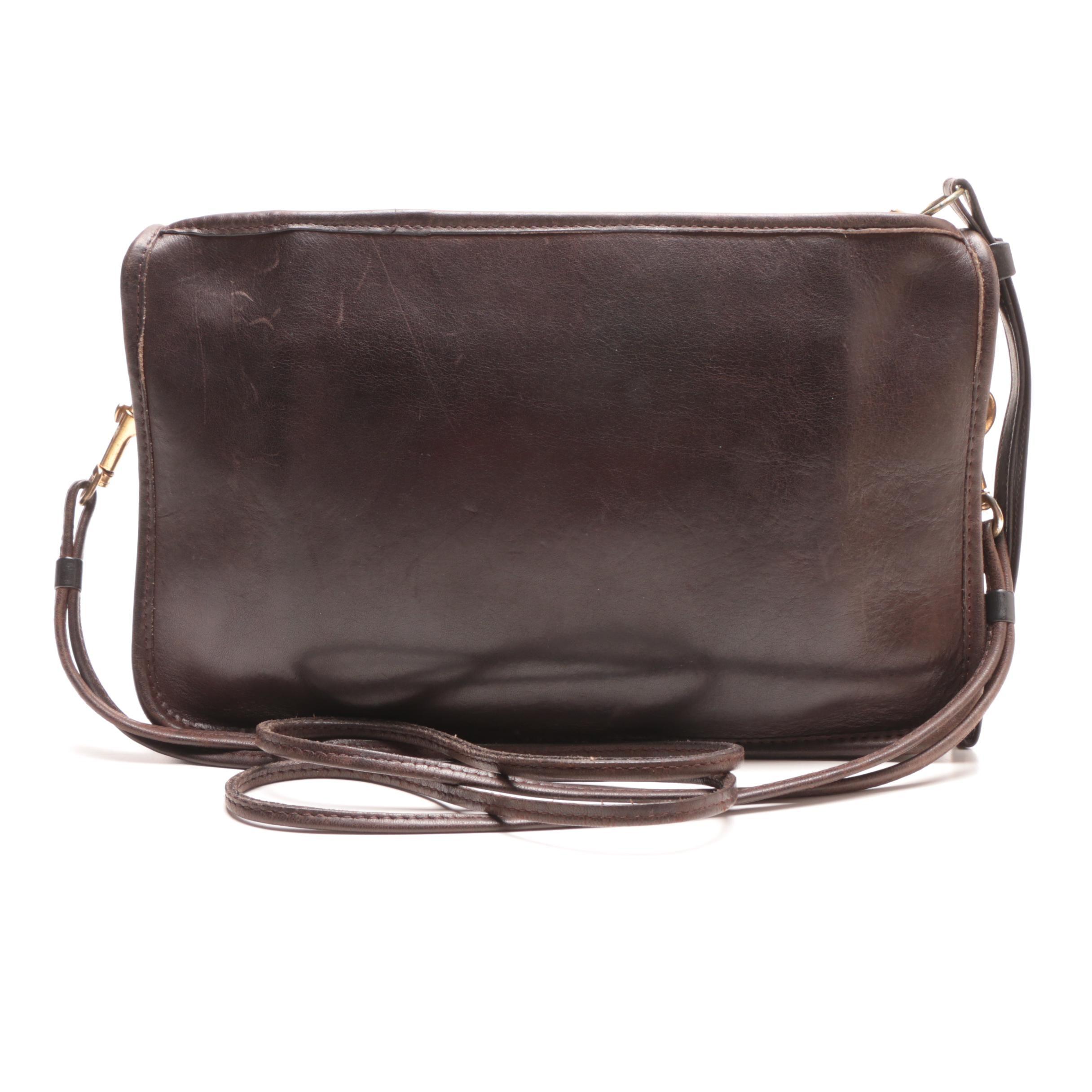 Circa 1970s Vintage Coach Legacy Convertible Clutch Shoulder Bag