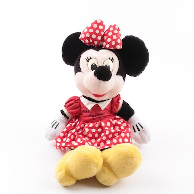 Susan Lucci Signed Disney Minnie Mouse Plush Toy