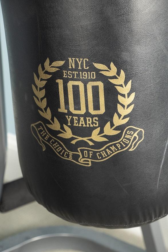 Everlast 100 Year Anniversary Punching Bag With Tko Heavy