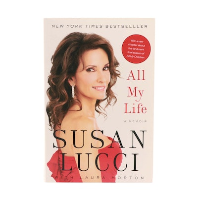 "2011 Autographed and Inscribed ""All My Life A Memoir "" by Susan Lucci"