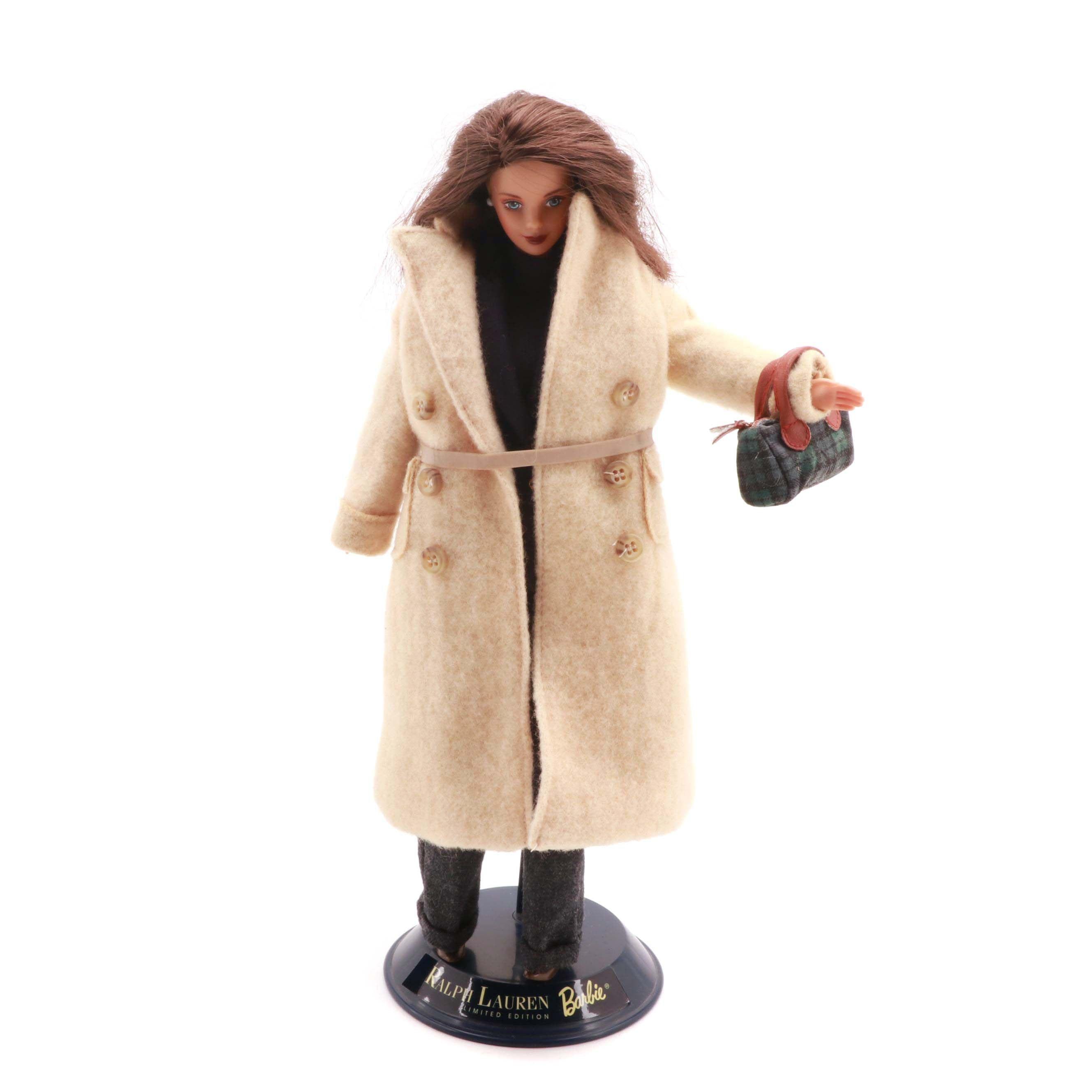 """Mattel for Ralph Lauren """"Celebrating 50 Years"""" Barbie Doll"""