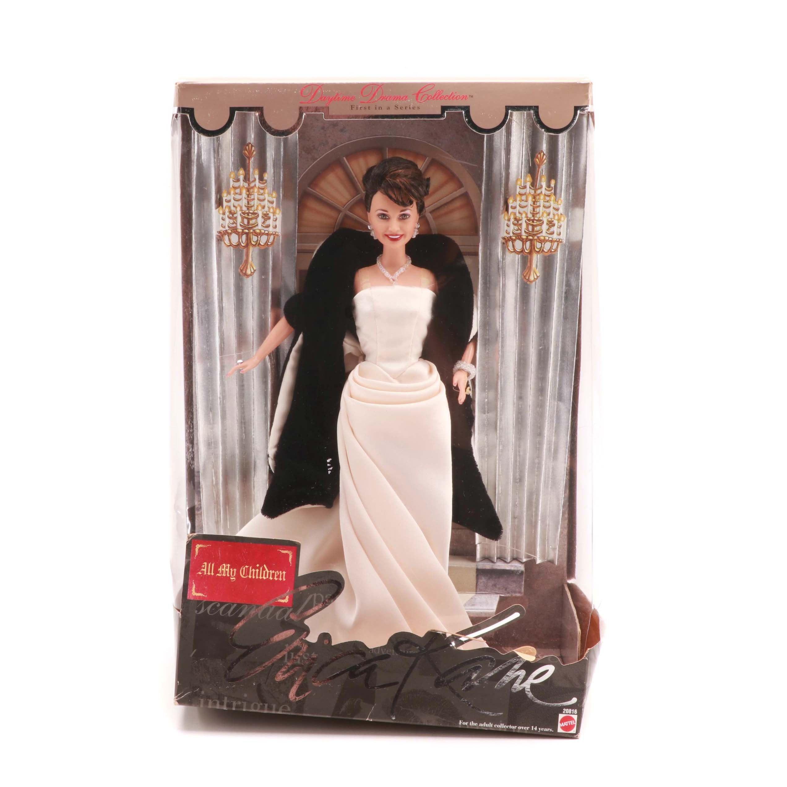 "1998 Mattel Signed ""All My Children"" Erica Kane Fashion Doll"