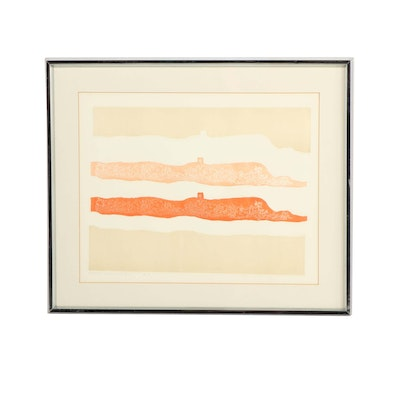 Mirielle Kramer Limited Edition Color Lithograph