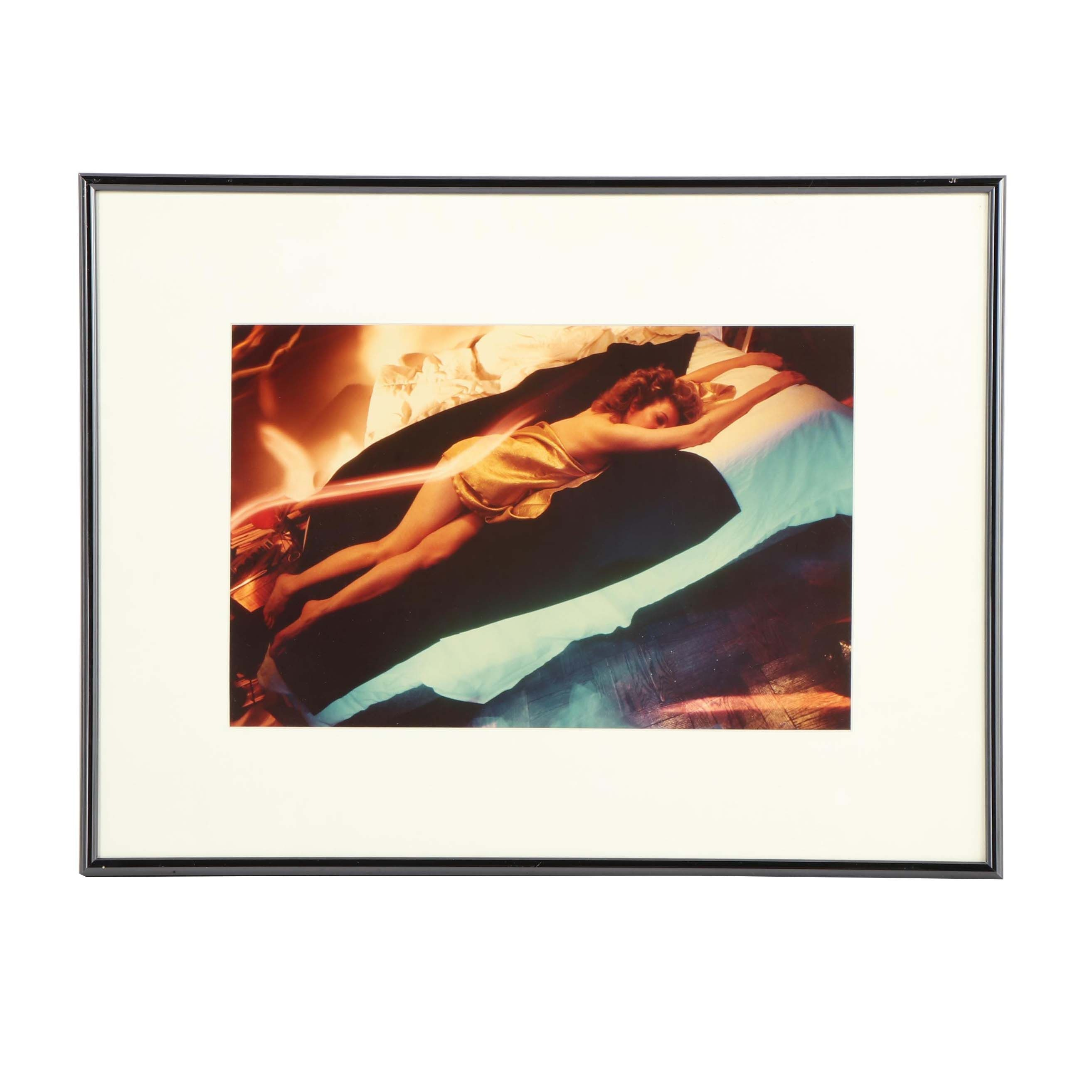 Reclining Woman Photograph Attributed to Dean Chamberlain (b. 1954)