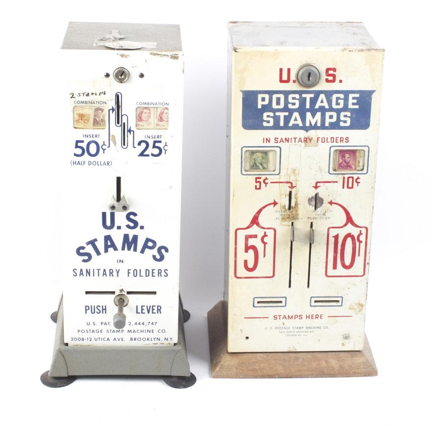 Vintage US Stamp Dispensers