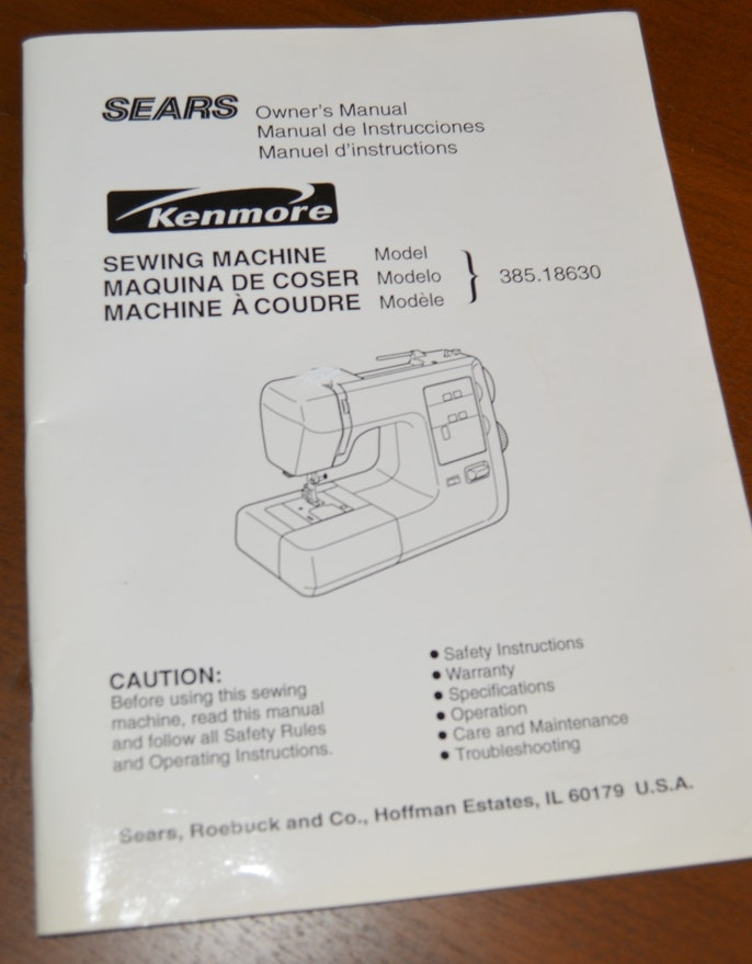 Sear Kenmore Sewing Machine Model 2142.pdf | …