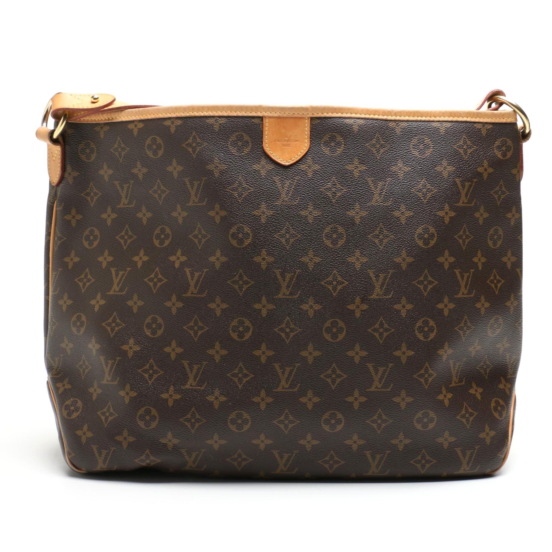 Louis Vuitton of Paris Monogram Canvas Delightful MM Bag