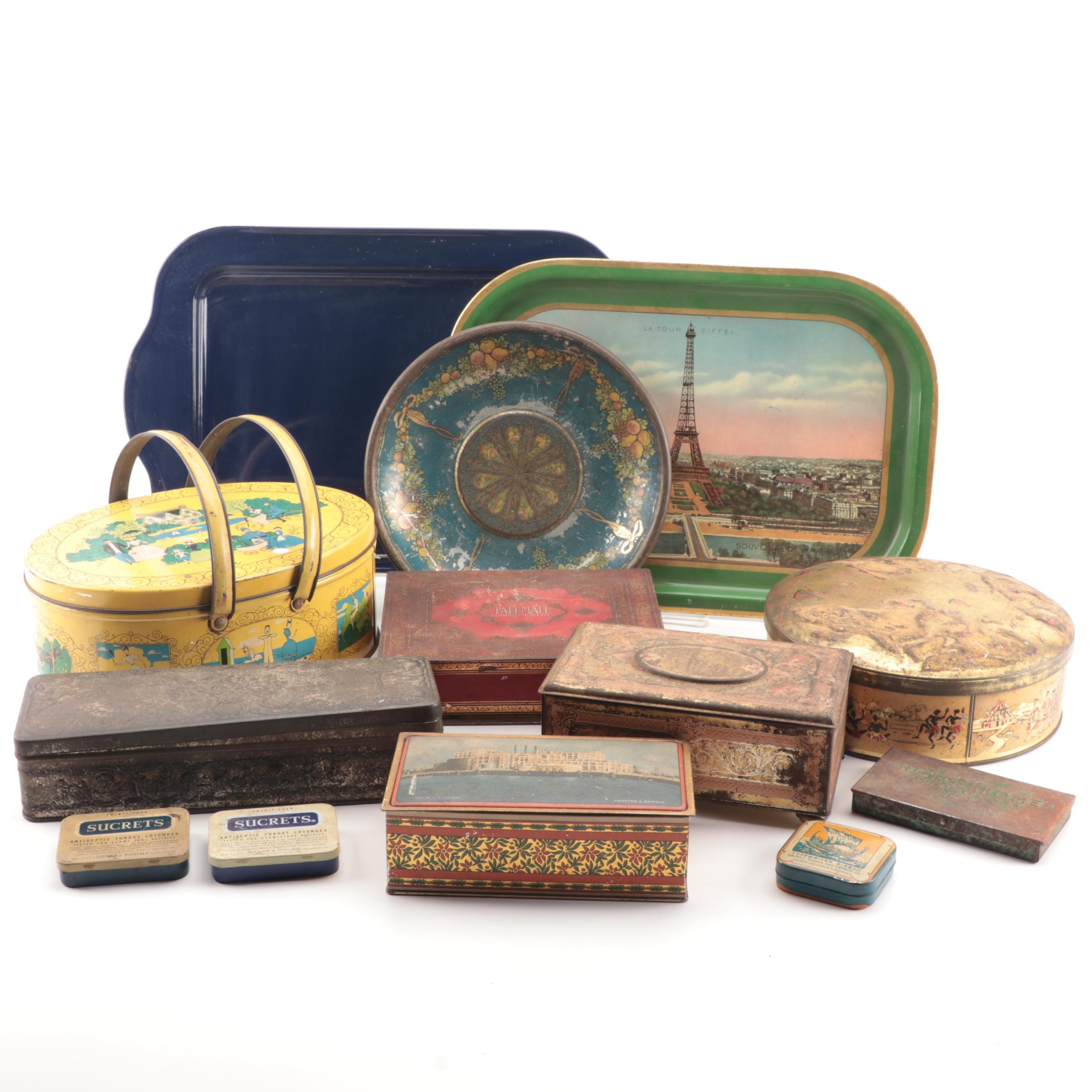 Vintage Tins and Trays