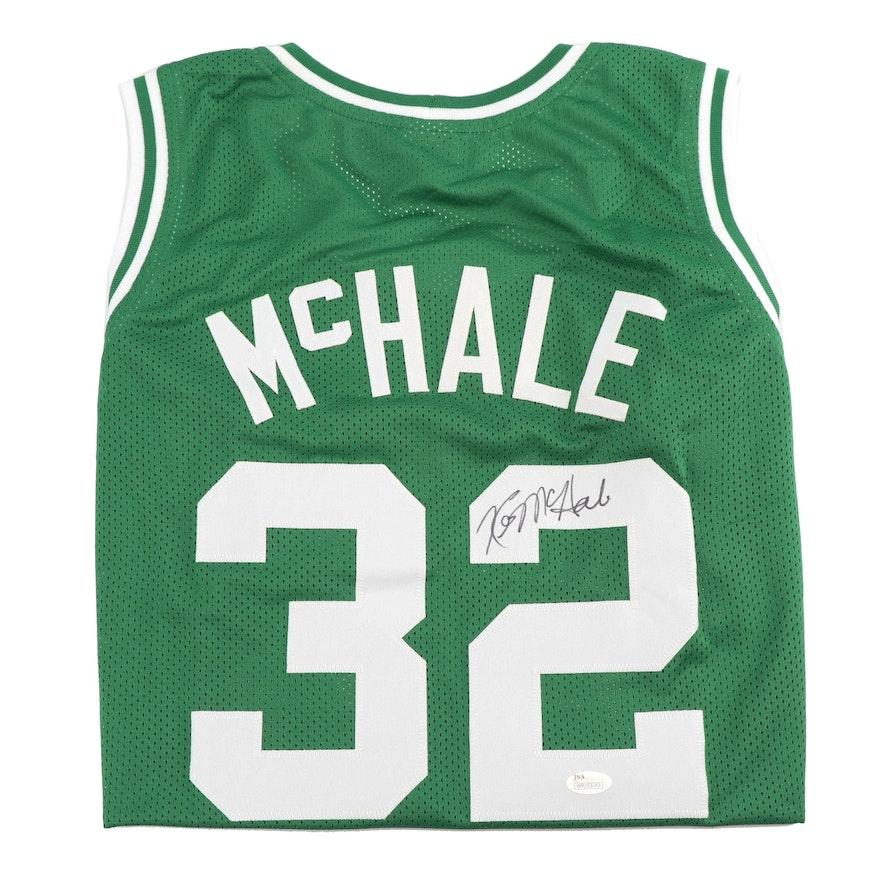 free shipping e7067 5d55a Kevin McHale Autographed Boston Celtics Replica Basketball Jersey - JSA COA