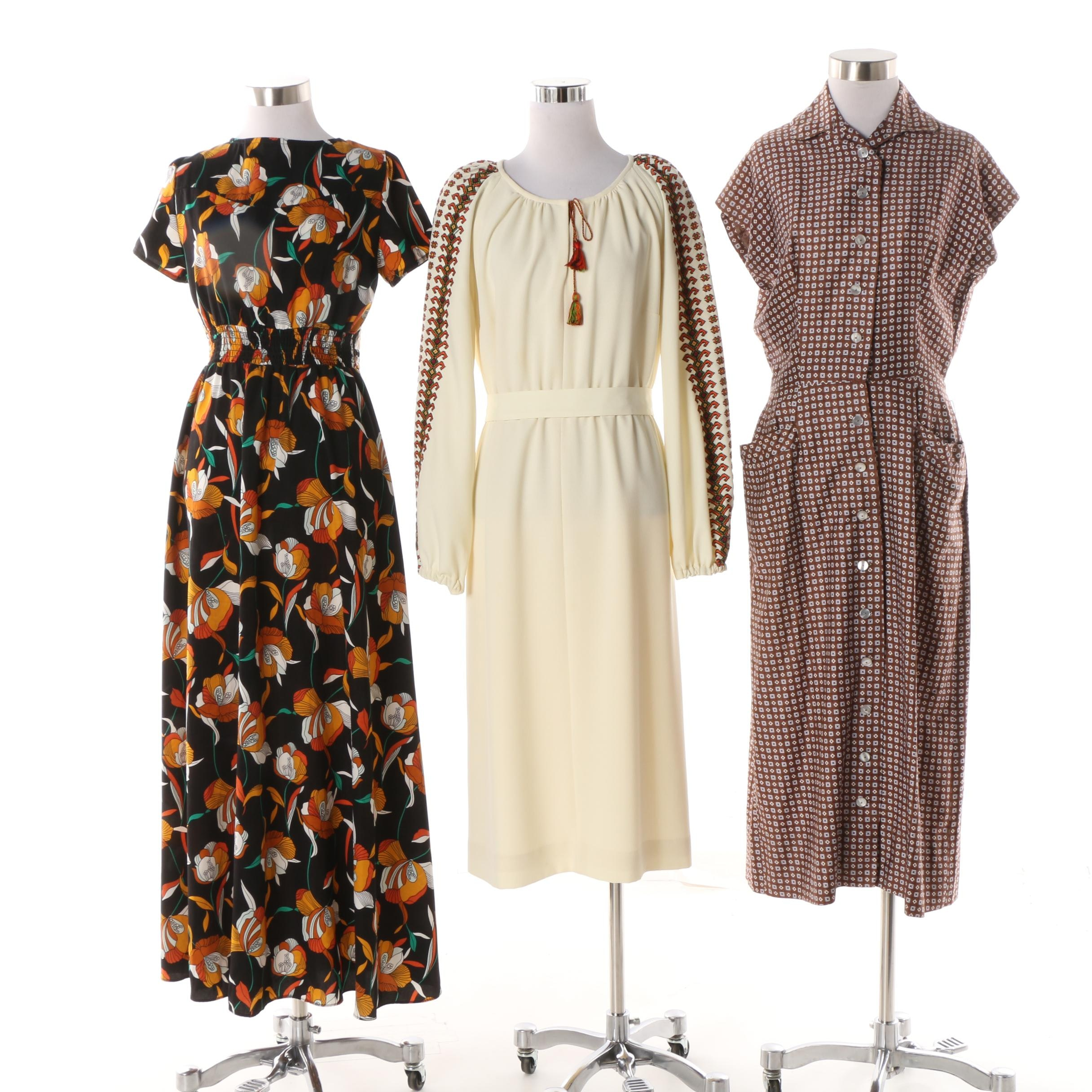 Mid-20th Century Dress Suit and Dresses