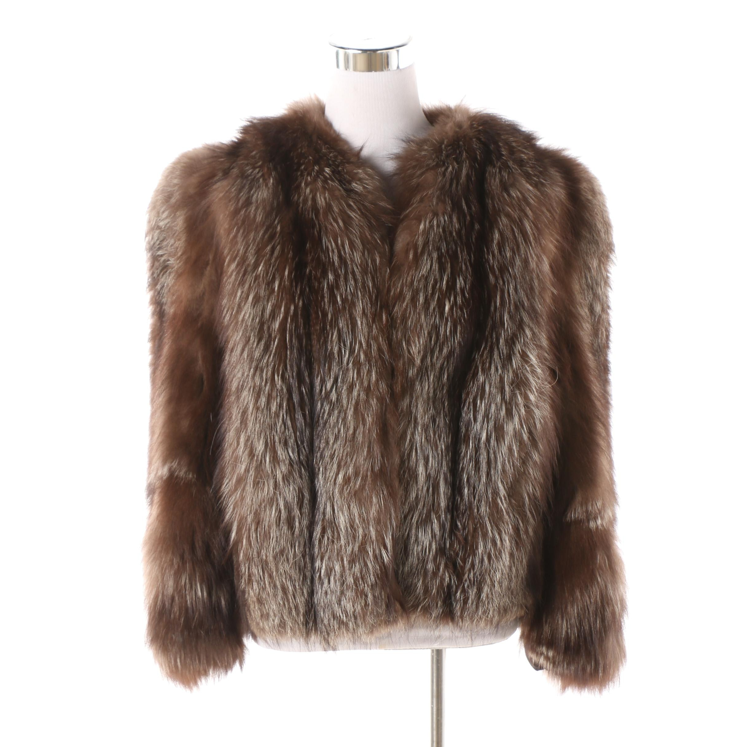 Women's Vintage Fox Fur Coat