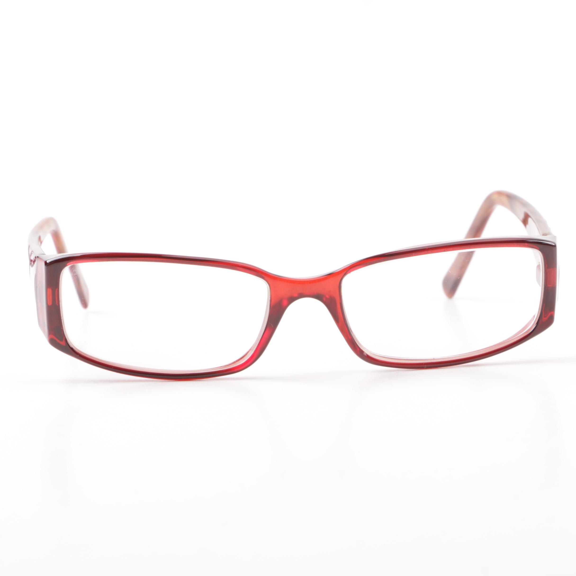 Calvin Klein Collection CK986 Cold Insert Prescription Eyeglasses with Case