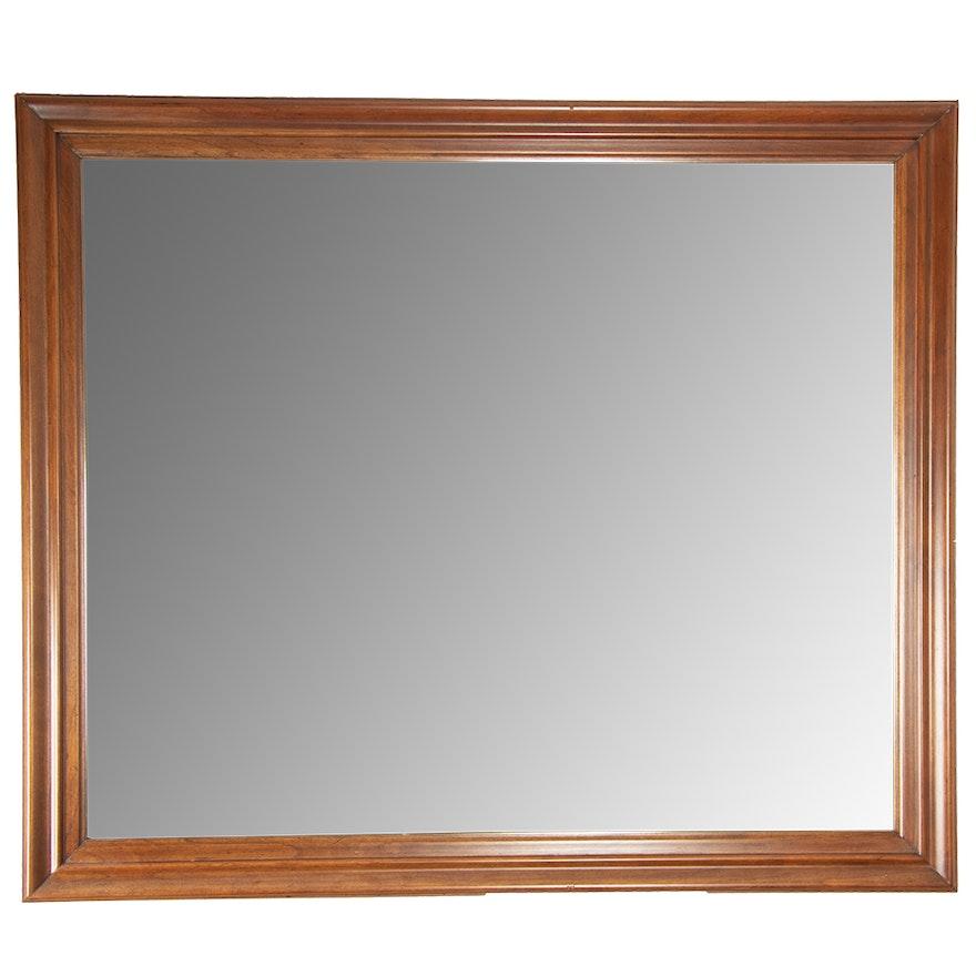 Ethan Allen Sheffield Solid Cherry Framed Wall Mirror