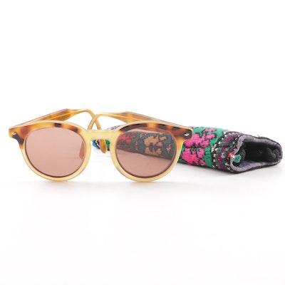 e2bedcfc336c Vintage Giorgio Armani Tortoiseshell Style Prescription Sunglasses with Case