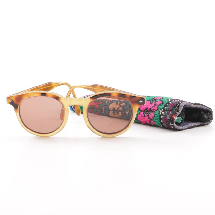 9eb5334ae20 Vintage Giorgio Armani Tortoiseshell Style Prescription Sunglasses with Case    EBTH