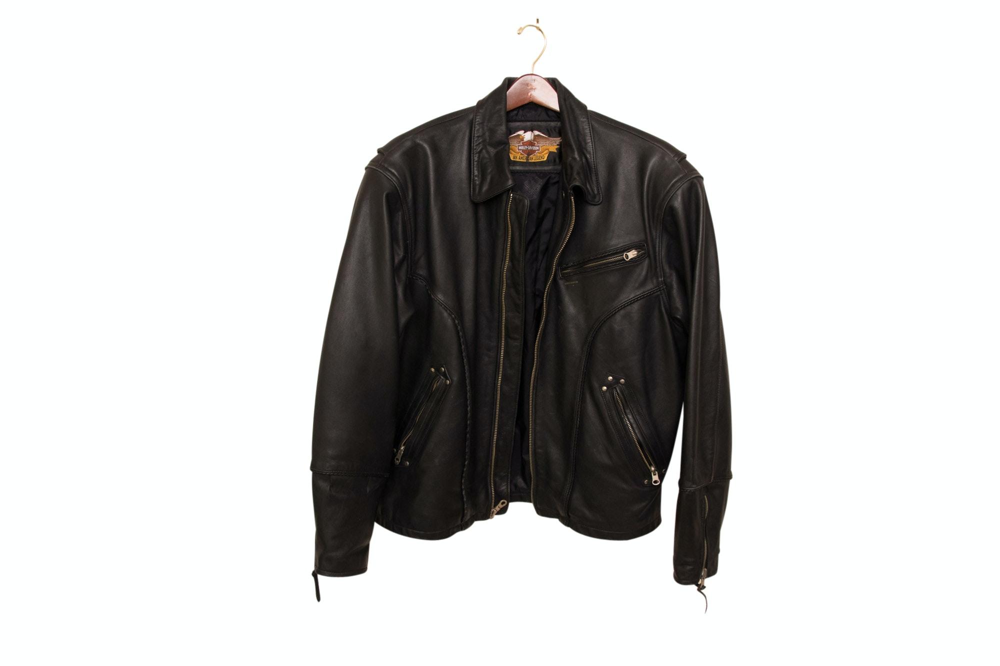 Harley-Davidson Black Leather Jacket