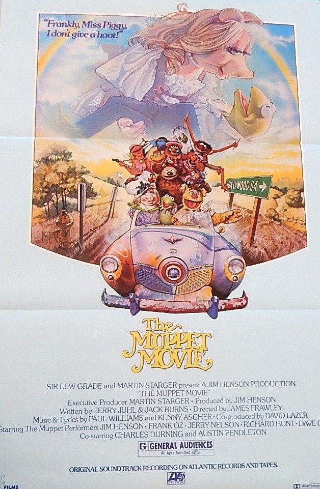 Three Vintage Muppet Movie Posters