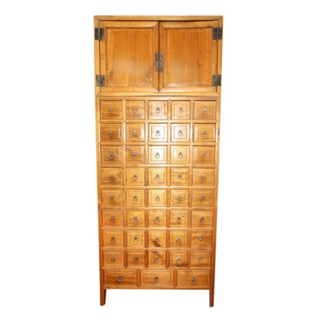 Chinese Apothecary Cabinet, Early 20th Century