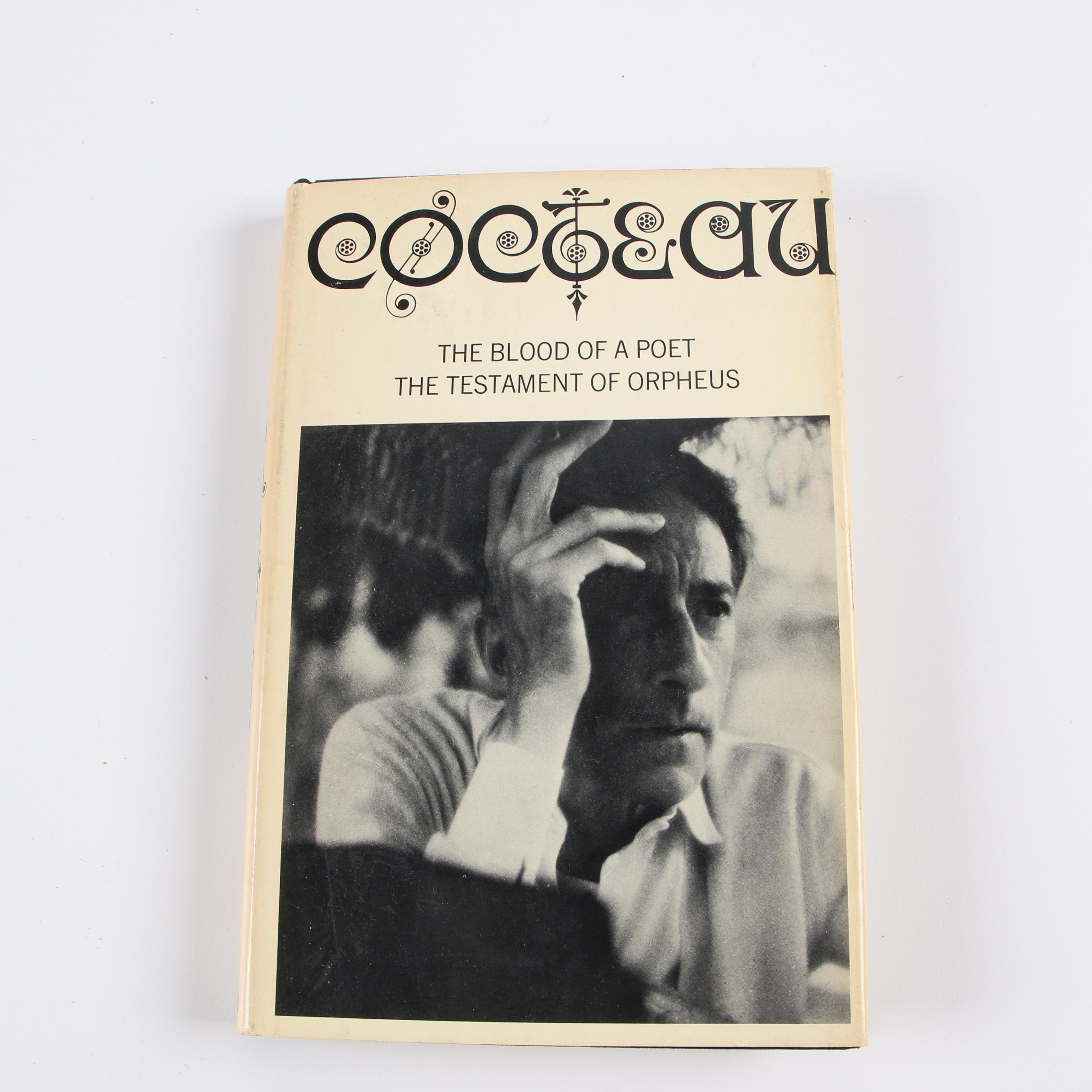 """1968 """"Two Screenplays"""" by Jean Cocteau with Translation by Carol Martin-Sperry"""