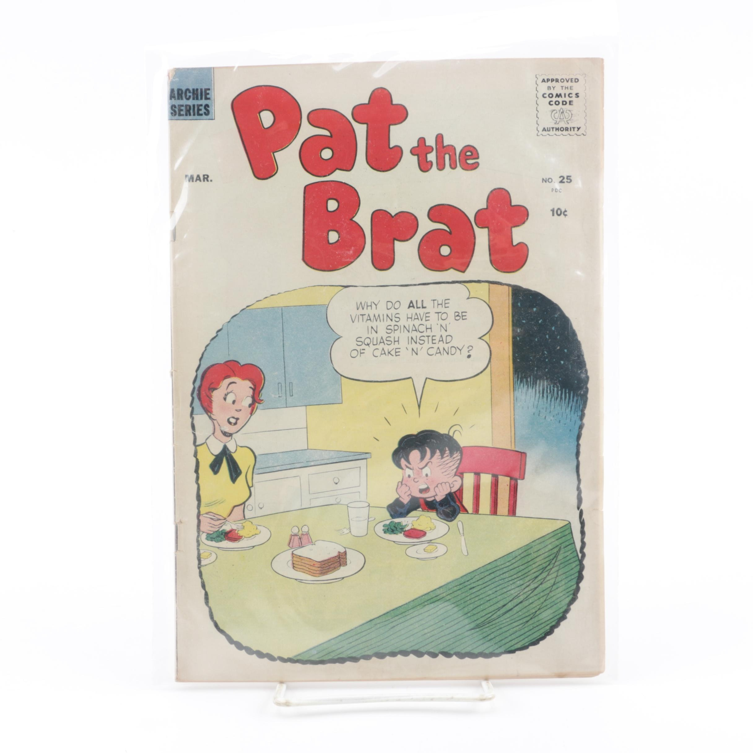 """March 1958 """"Pat the Brat"""" Comic Issue"""