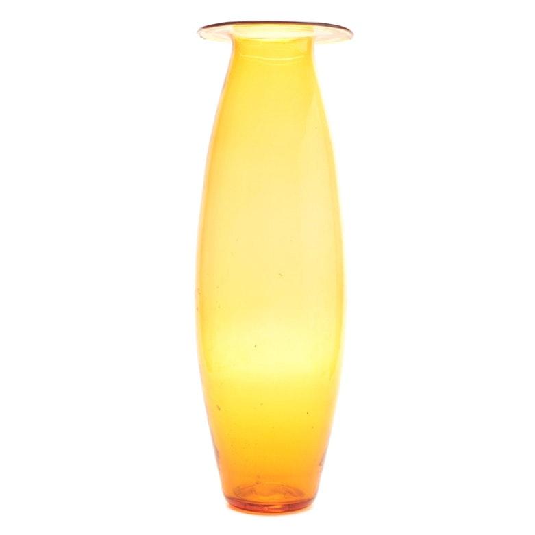 Blenko Art Glass Floor Vase
