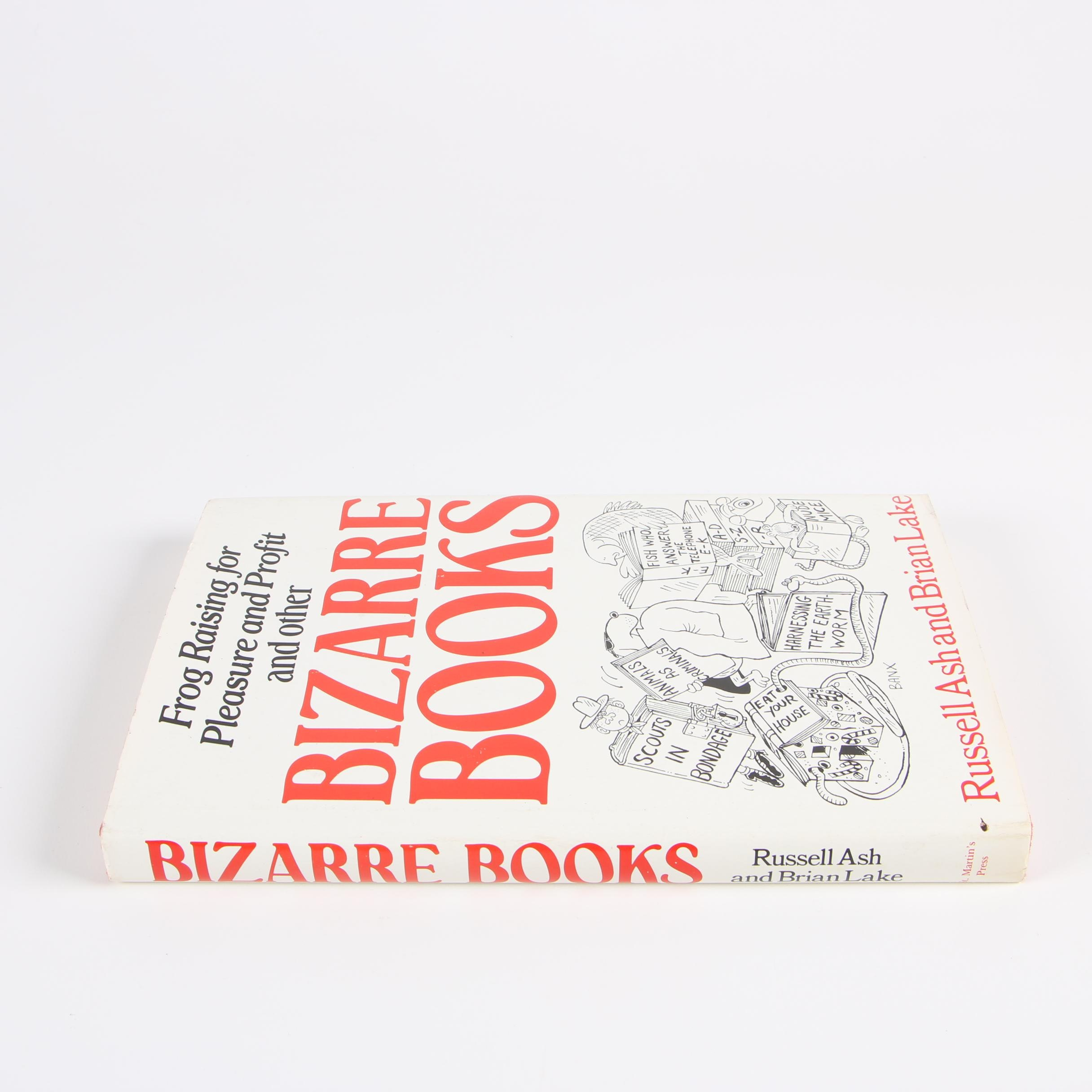 "1985 First US Edition ""Bizarre Books"" by Russell Ash and Brian Lake"