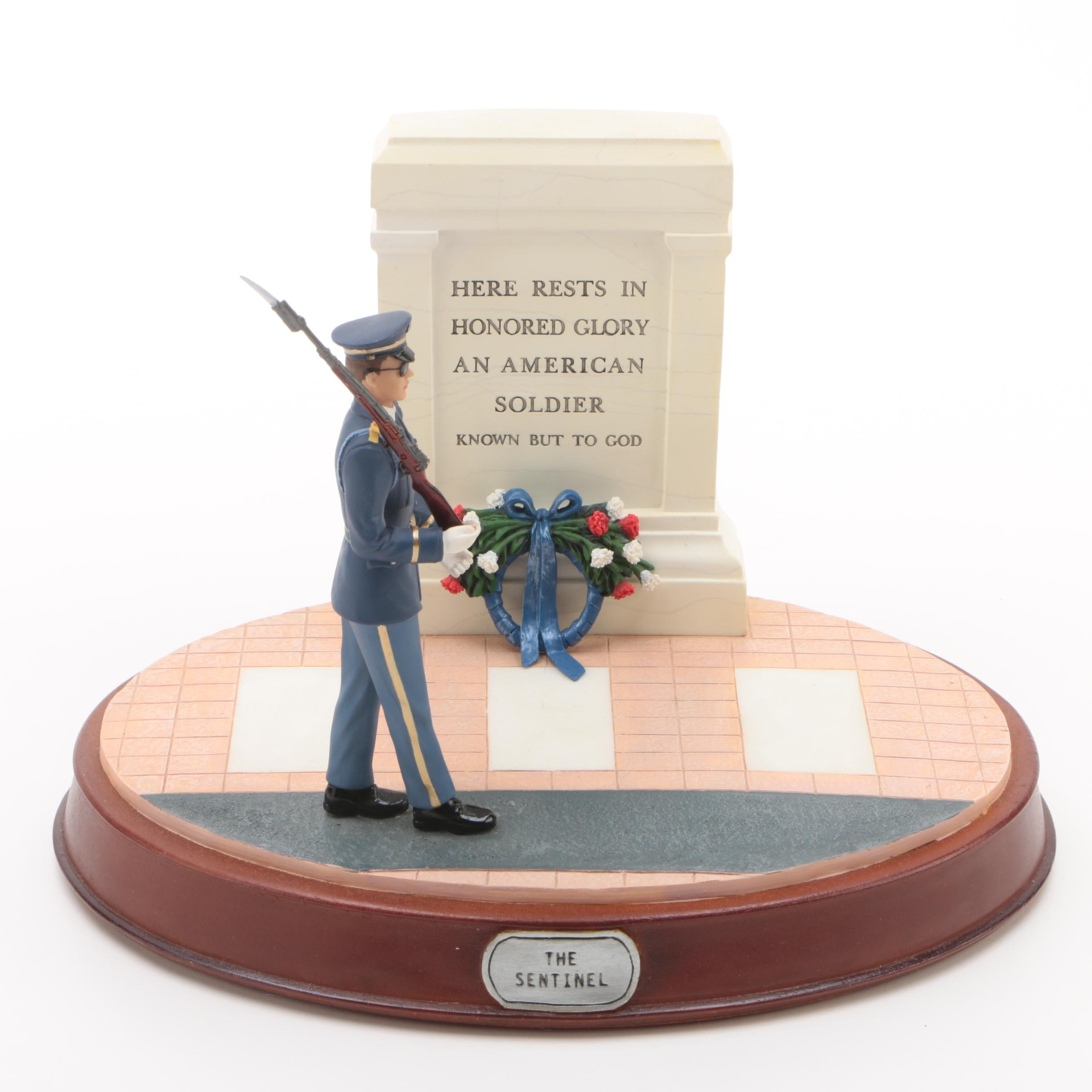 "G.I. Joe ""The Sentinel"" Limited Edition Military Memorials Series Figurine"