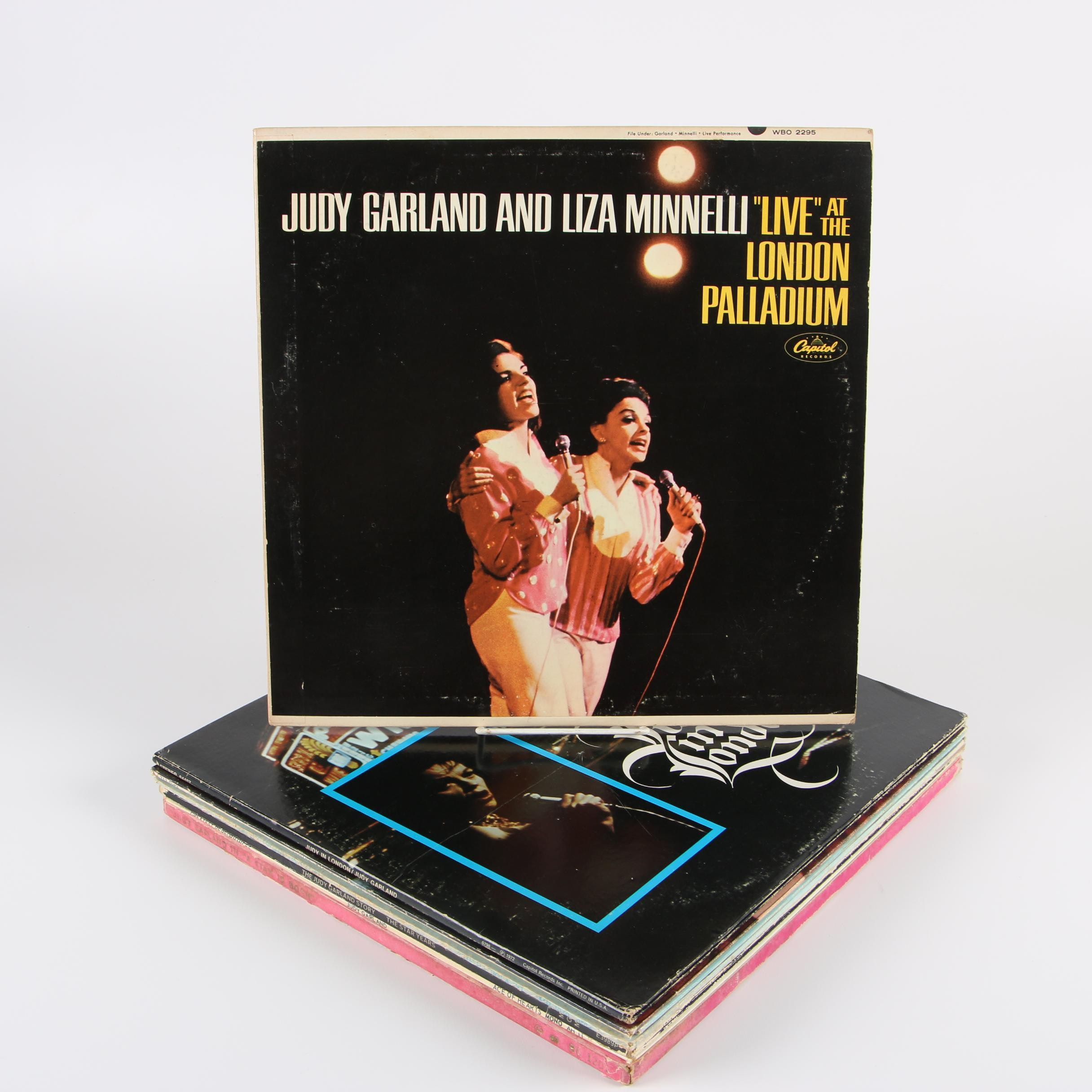 "Judy Garland Vinyl Records including ""A Star Is Born"""