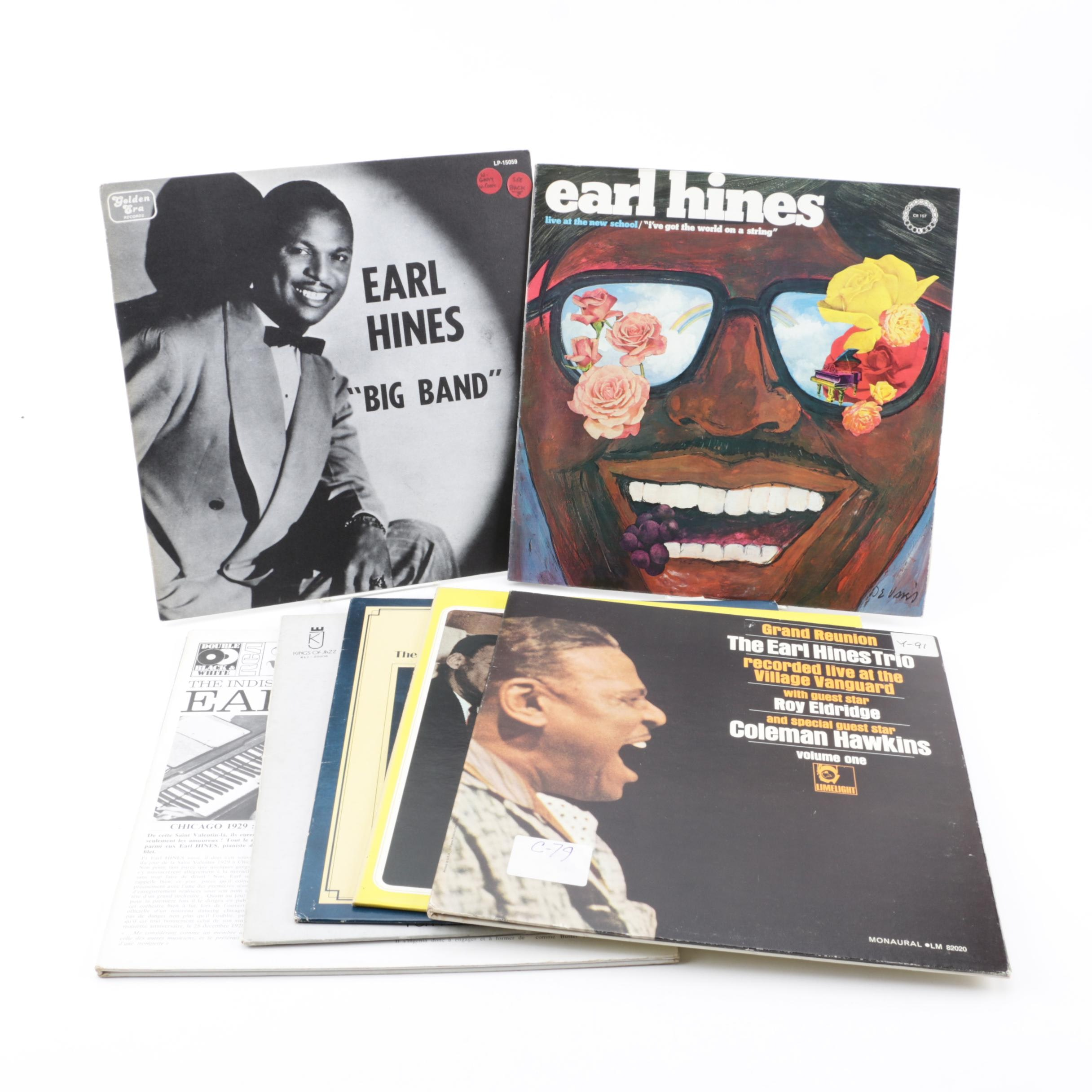 "Earl Hines Vinyl Records including ""Grand Reunion"""