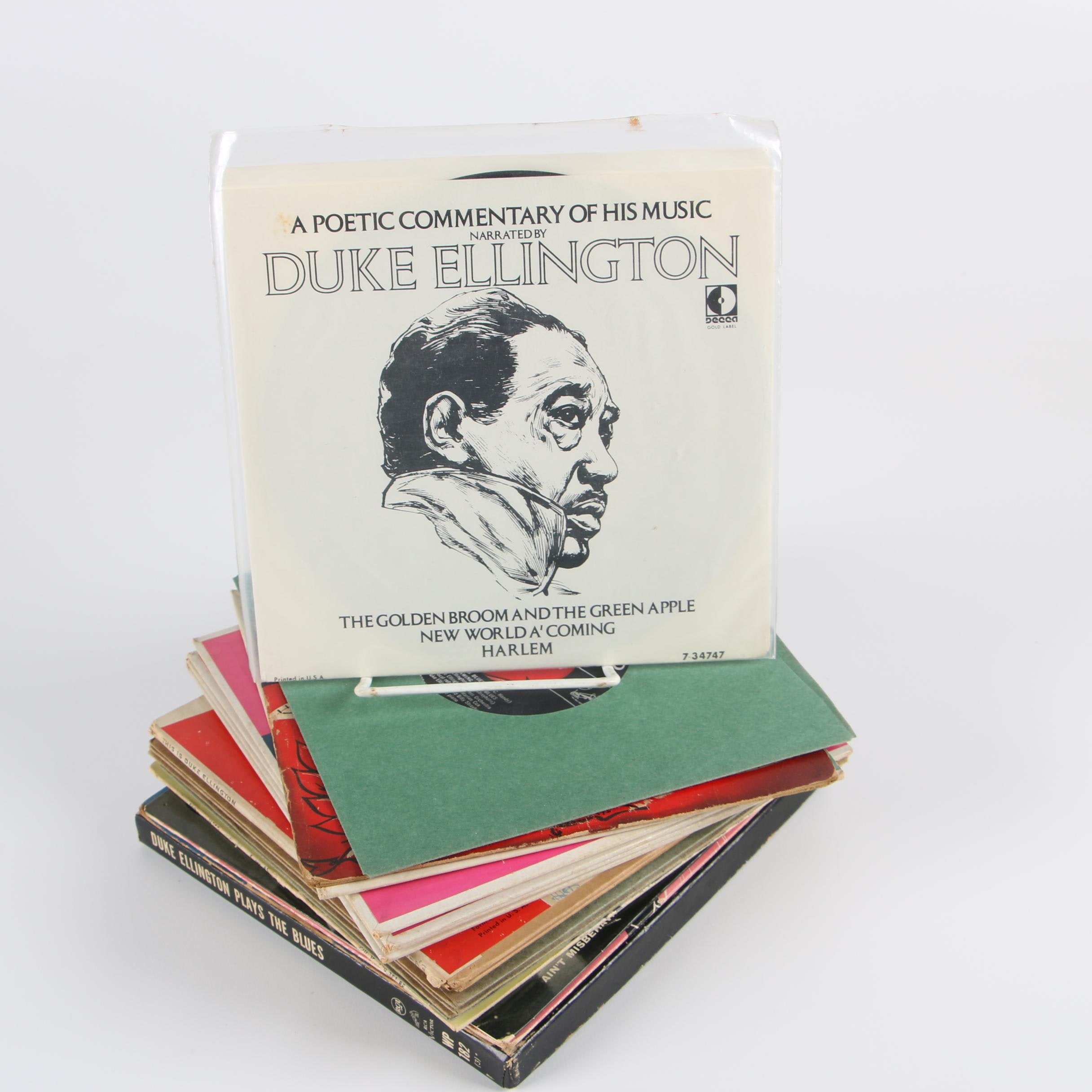 "Duke Ellington Vinyl Records including ""The Duke in London"""