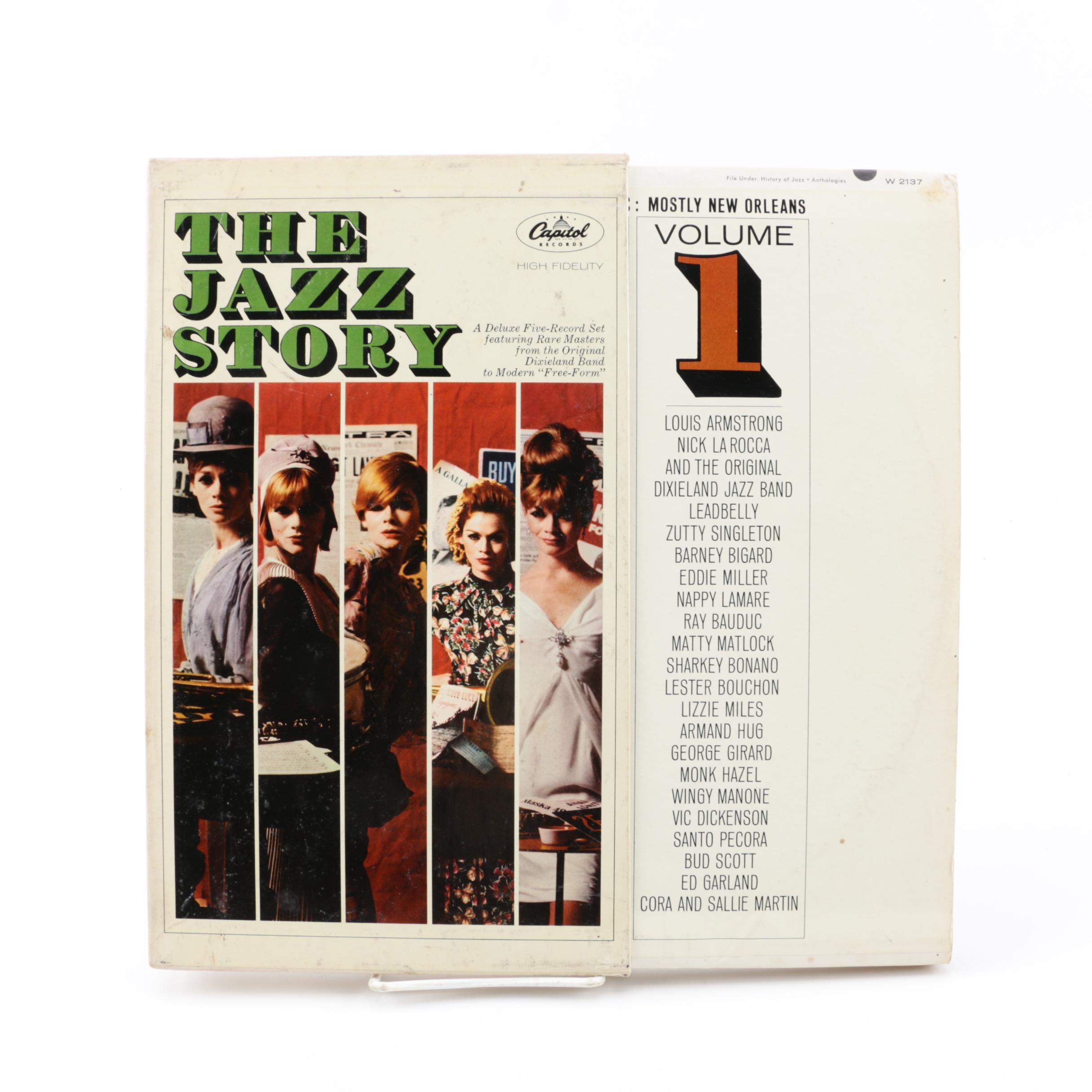 """The Jazz Story"" Vinyl Record Box Set"
