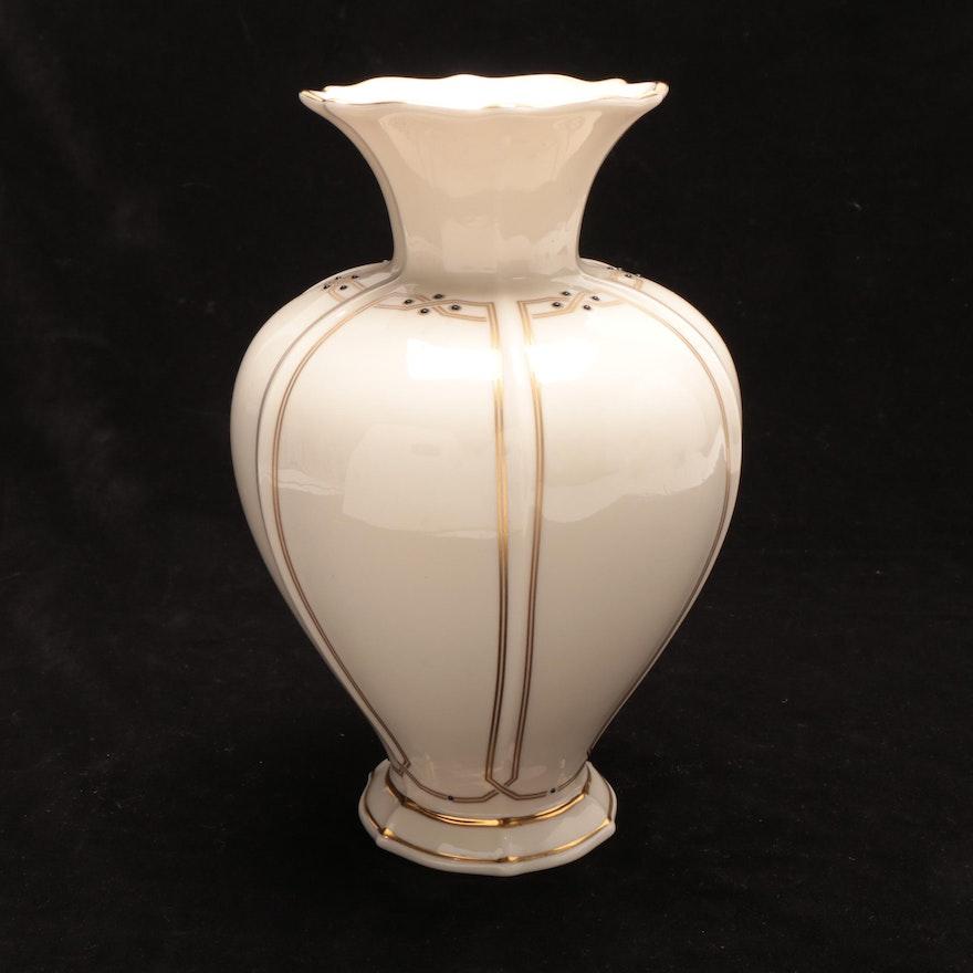 """Lenox """"Vanguard Collection"""" Porcelain Vase"""