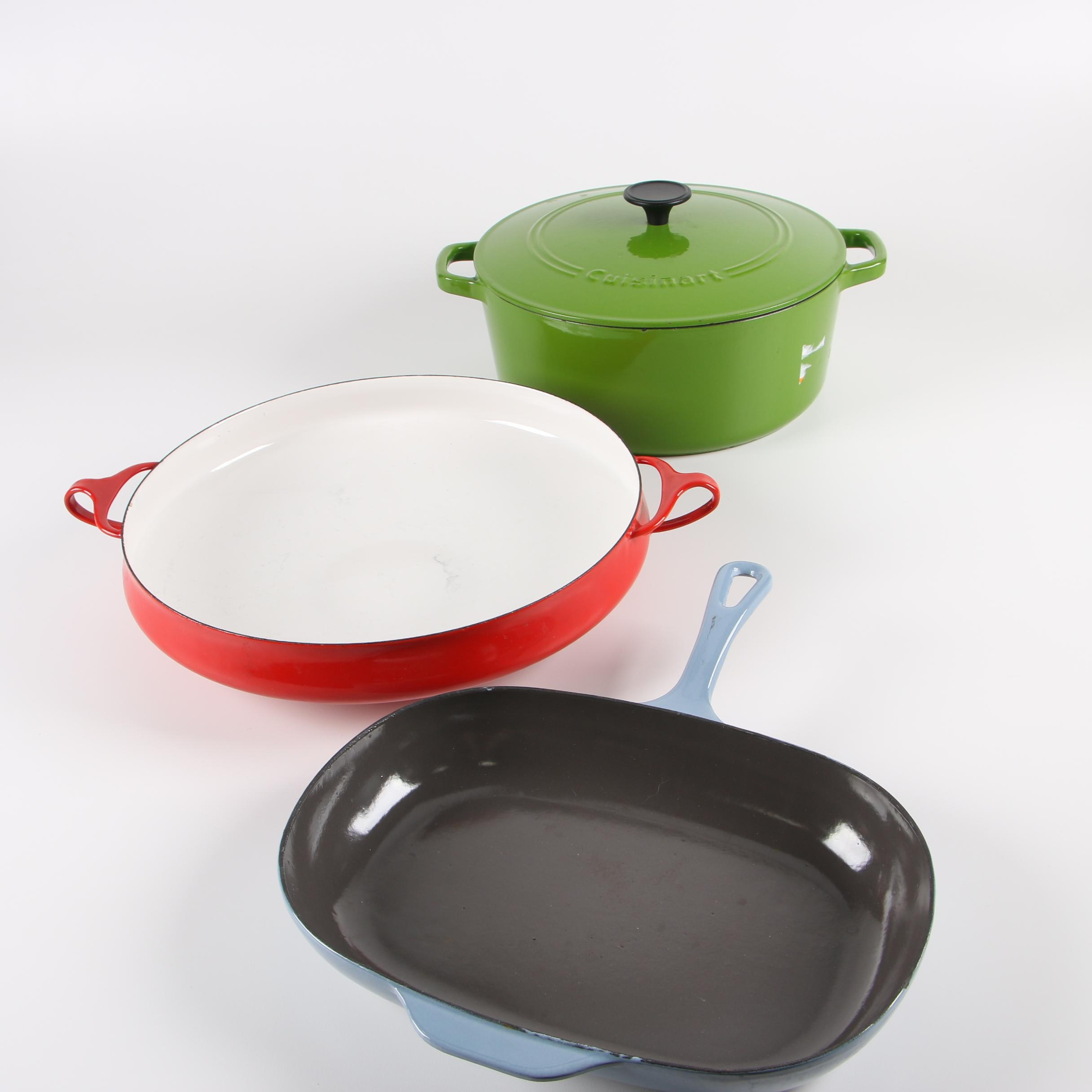 Enameled Cast Iron Cookware featuring Dansk and Cuisinart