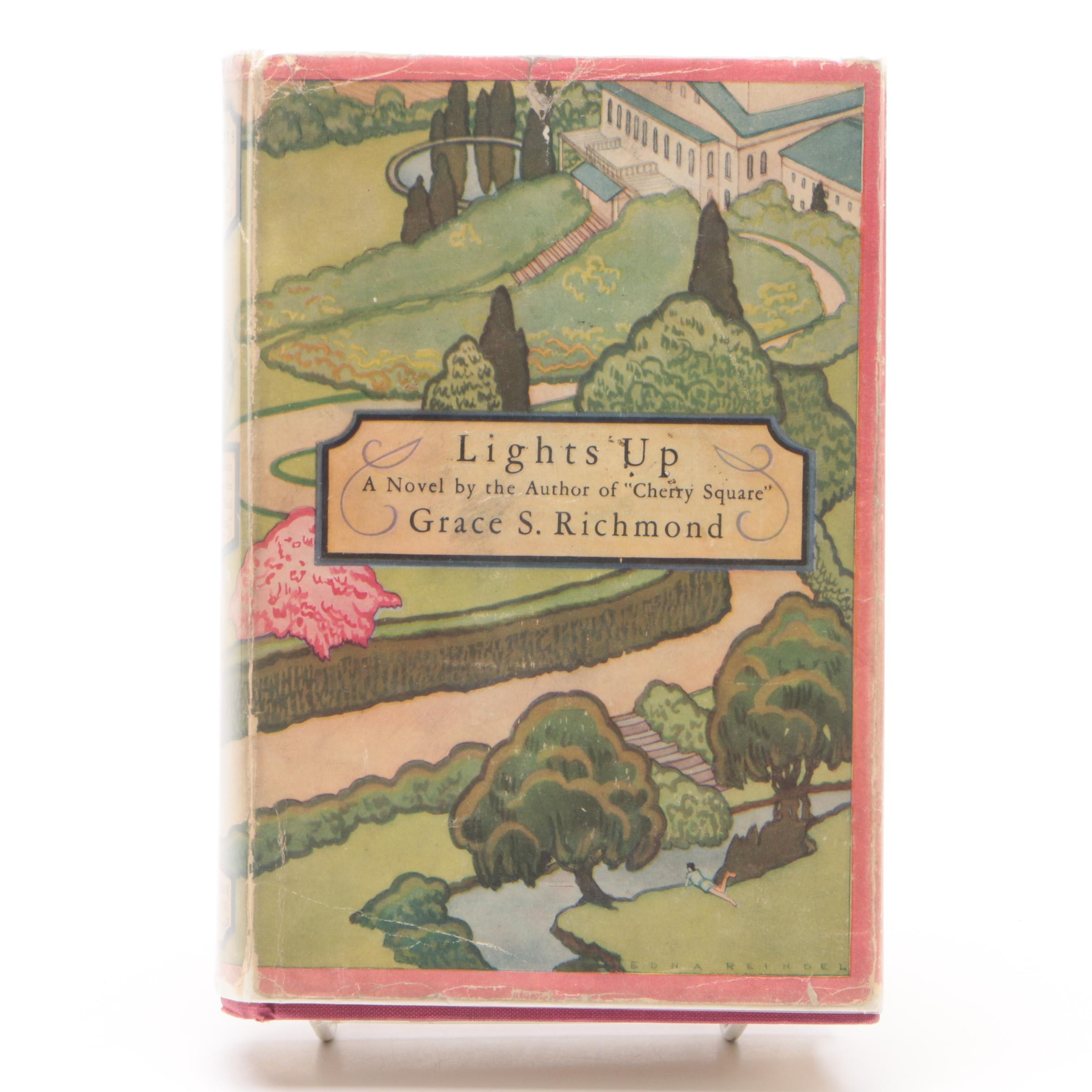 """1927 First Edition """"Lights Up"""" by Grace S. Richmond"""