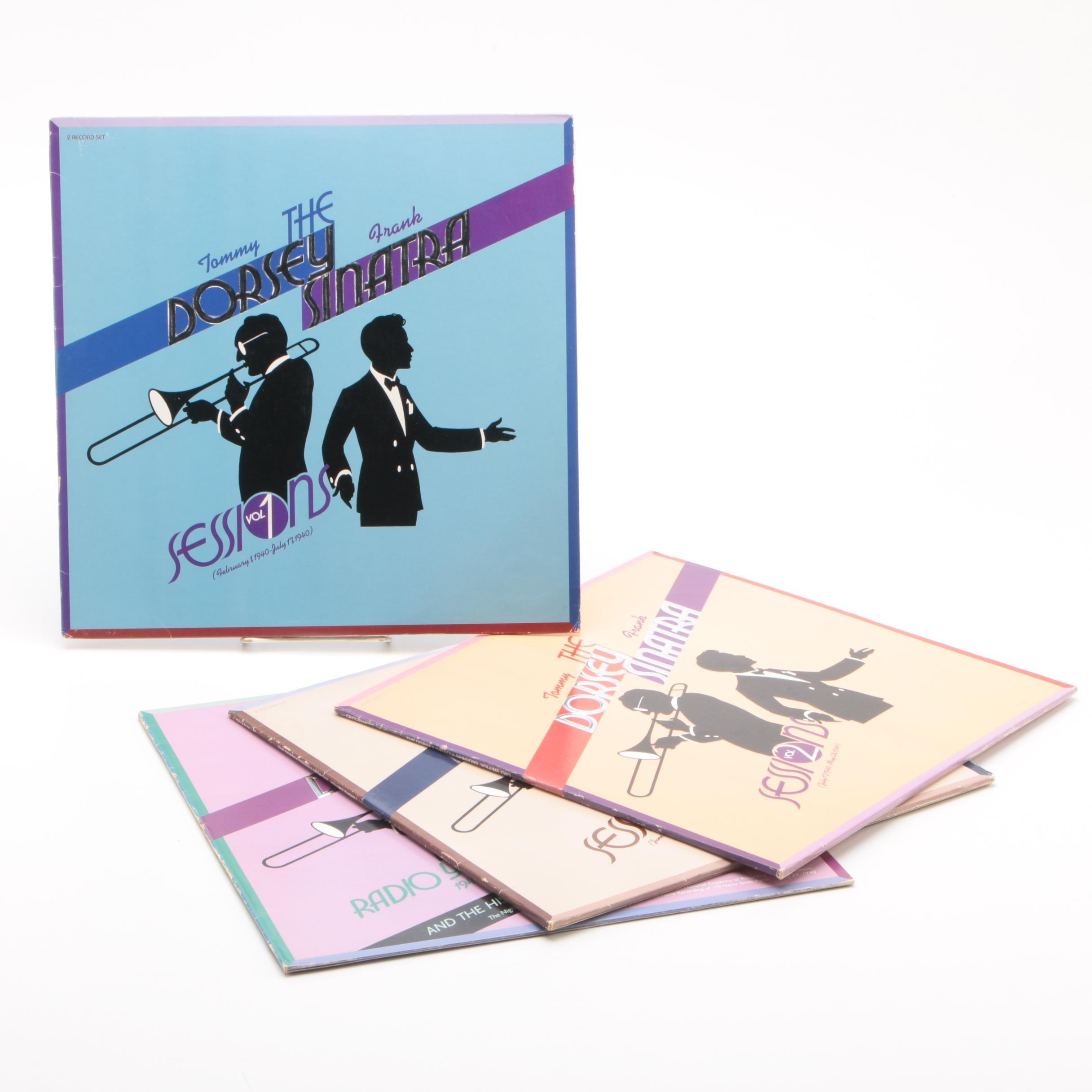 The Jimmy Dorsey/Frank Sinatra Sessions Vinyl Record Set