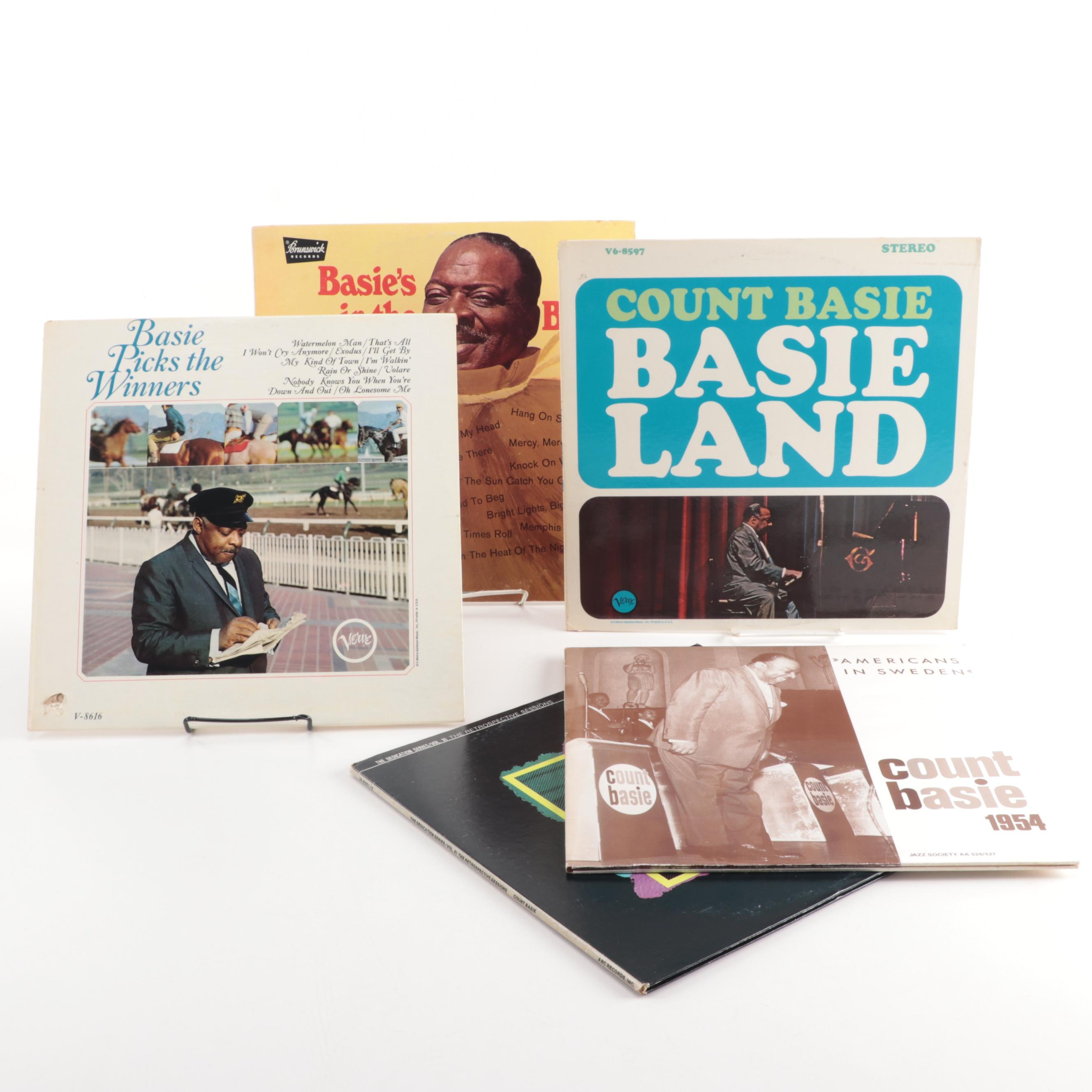 Jazz and Big Band Records featuring Count Basie