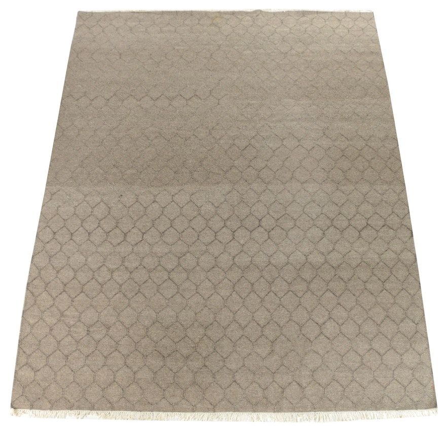 """Restoration Hardware Area Rugs: Hand-Knotted Restoration Hardware """"Honeycomb"""" Area Rug By"""