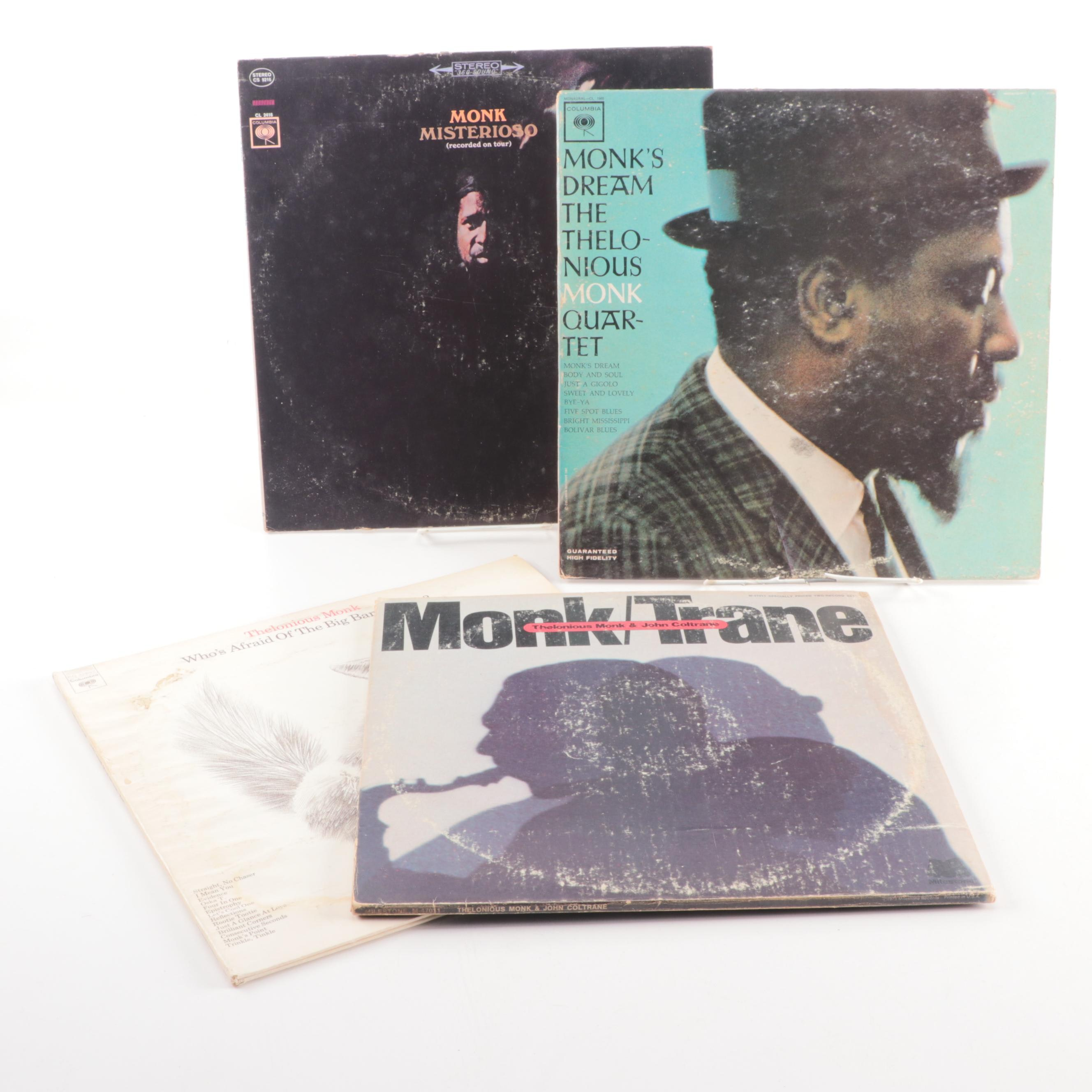 "Thelonious Monk Vinyl Records including ""Misterioso"""