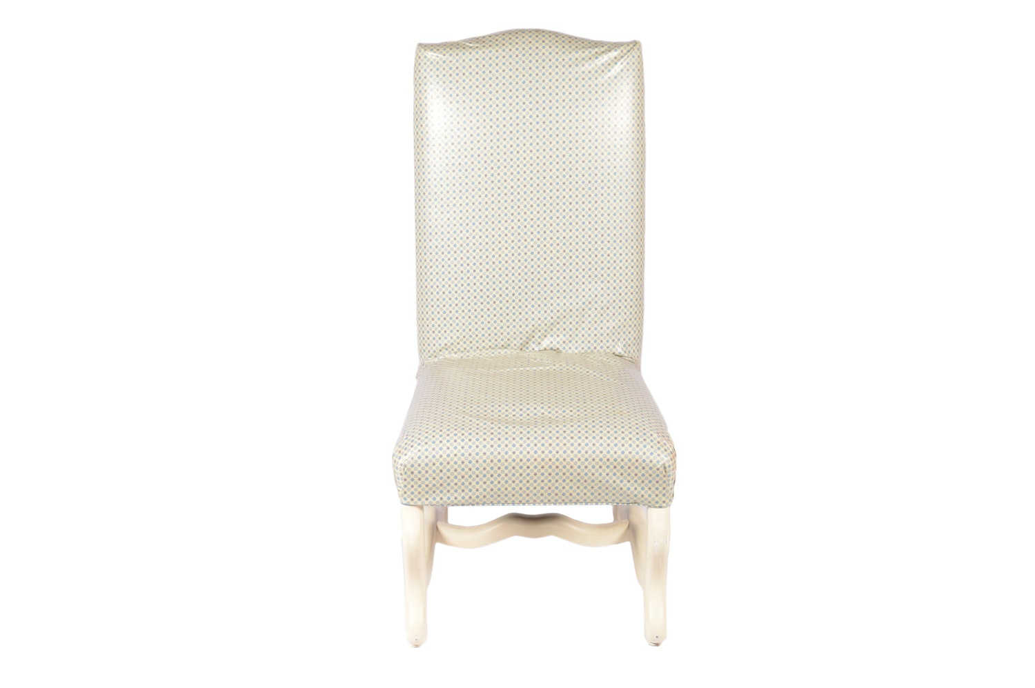 Louis XIII Style Upholstered Side Chair, 21st Century
