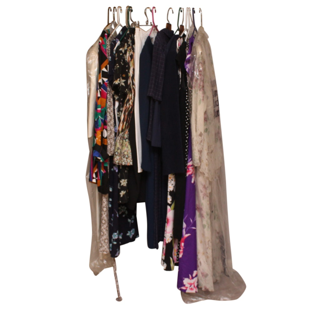 Selection of Vintage Women's Clothing Including Brett Alexander and Stuart Allen