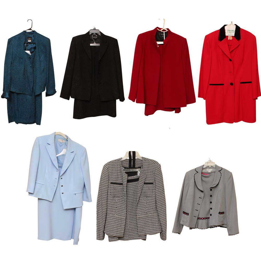 Selection of Women's Skirt Suits and Separates  Including Kasper and Worthington