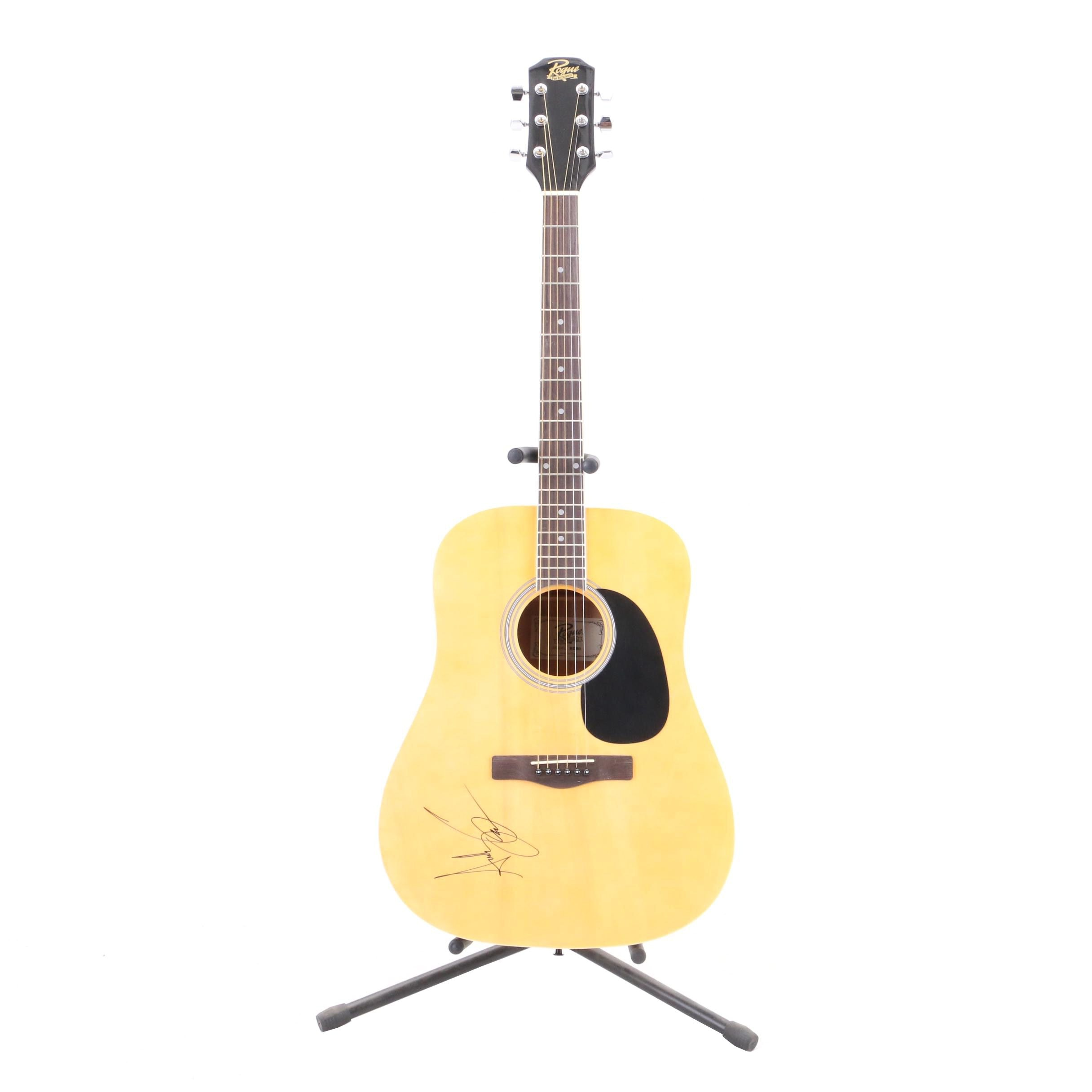 Andy Grammer Autographed Rogue Six-String Guitar