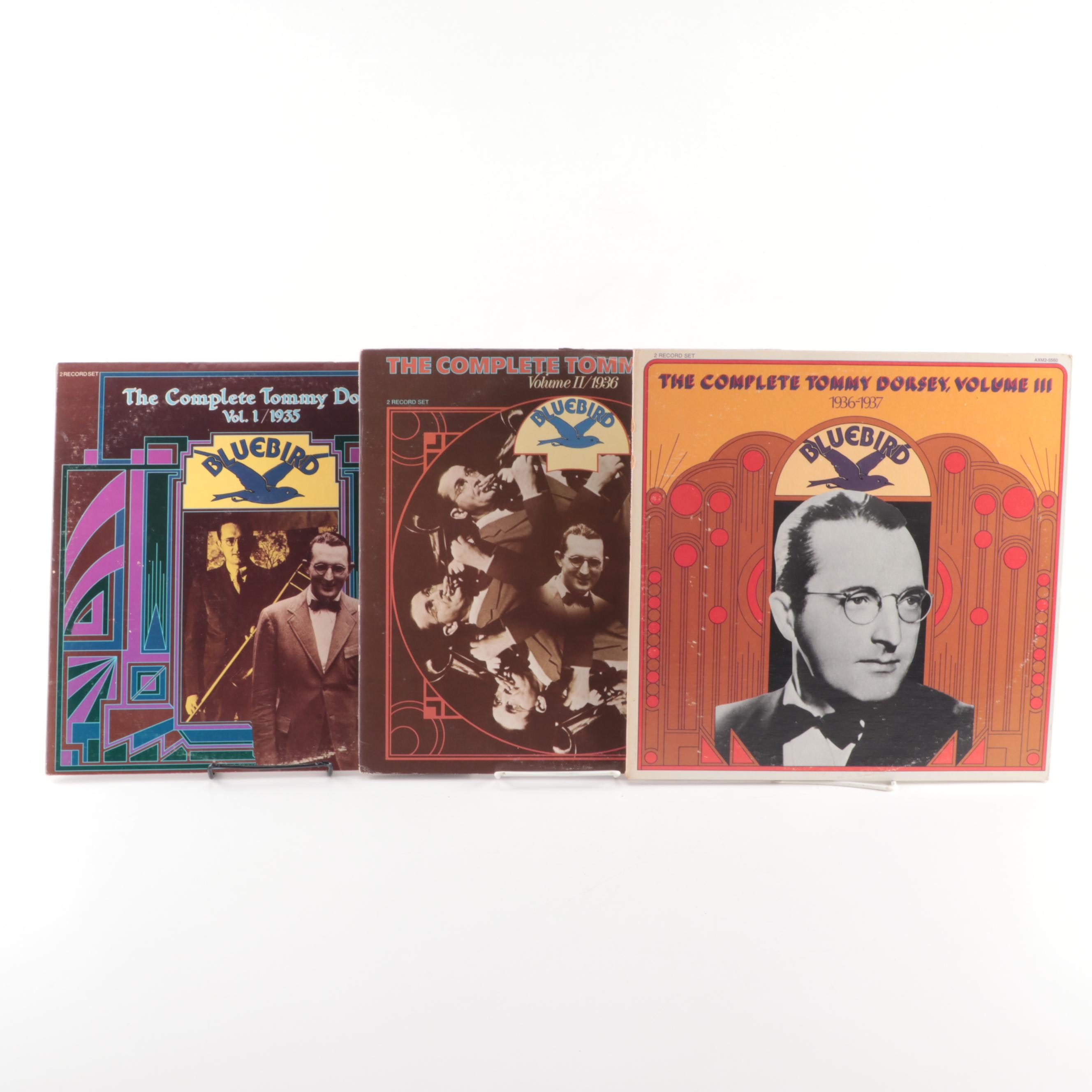 """The Complete Tommy Dorsey"" Three Volume Vinyl Record Set"