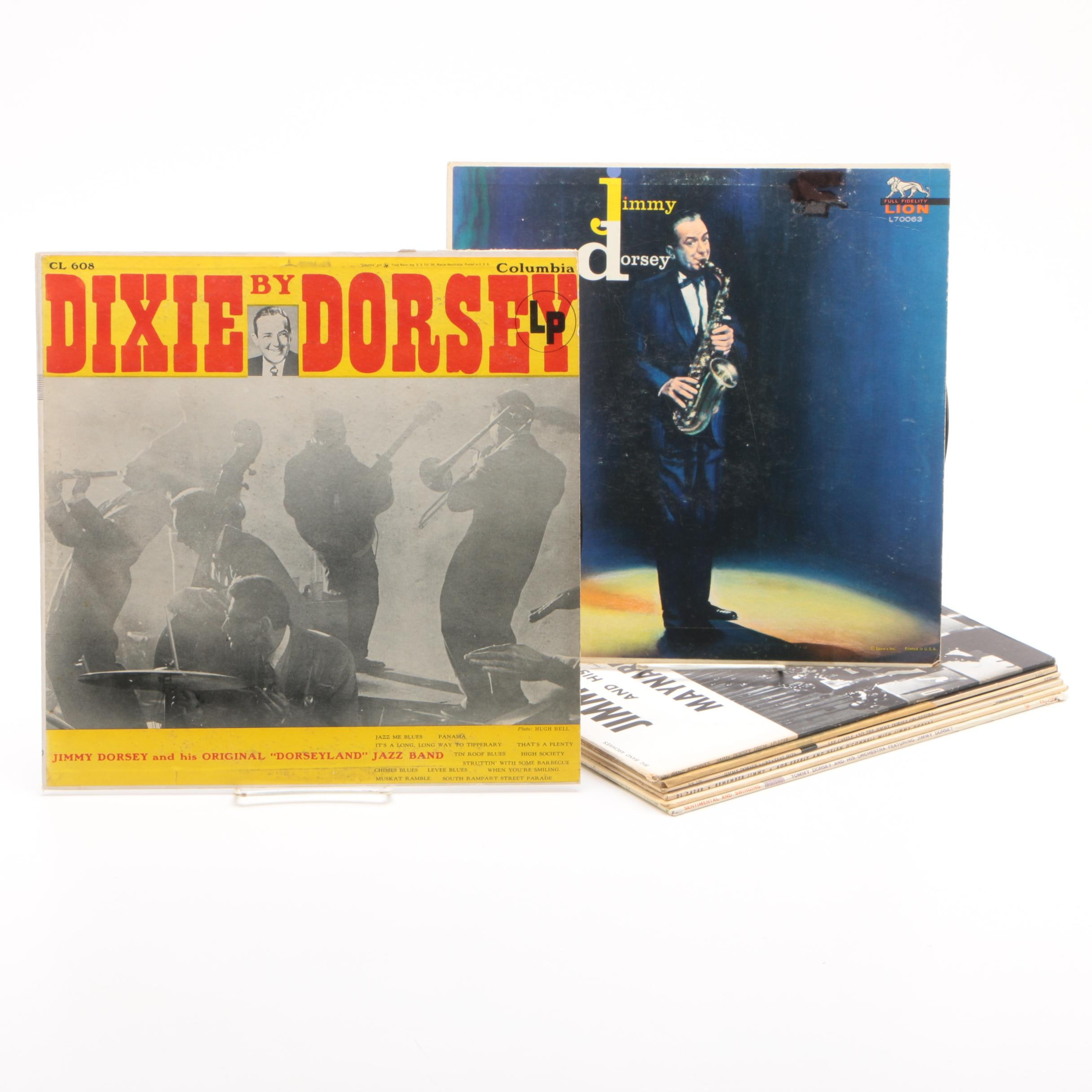 "Jimmy Dorsey Vinyl Records including ""Dixie by Dorsey"""