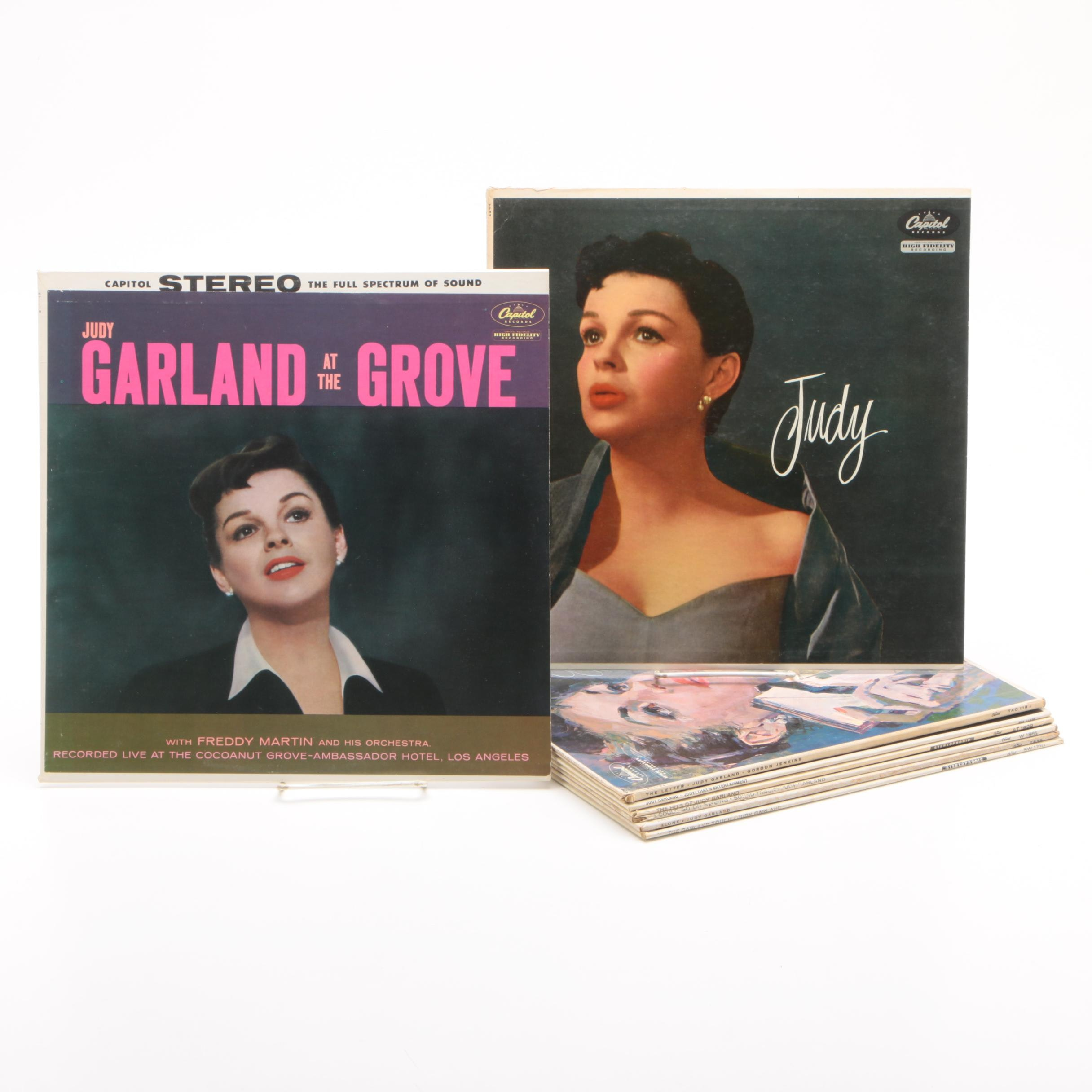 1950s and 1960s Judy Garland Records