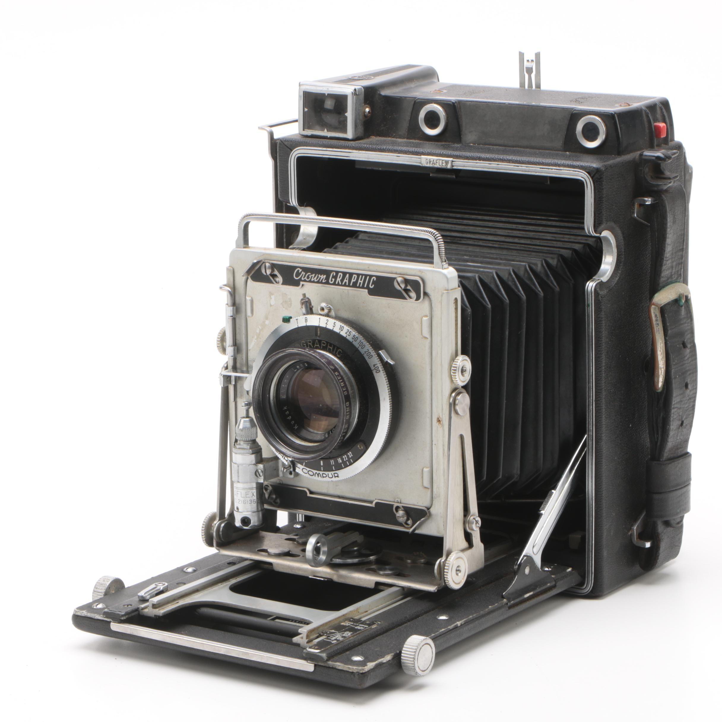 Circa 1960 Graflex Crown Graphic Field Camera