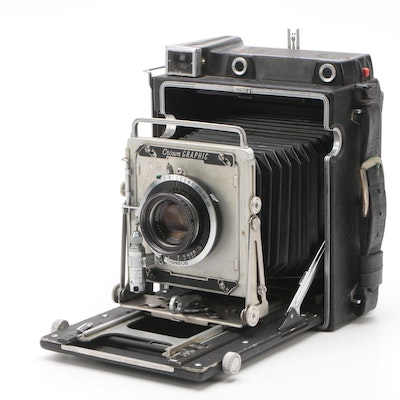 Circa 1960 Graflex Crown Graphic Field Camera